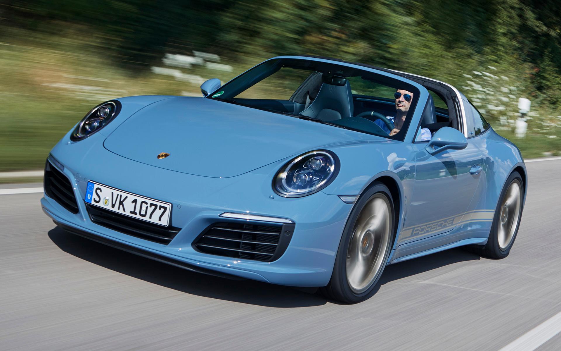 Porsche 911 Targa S Exclusive Design Edition 2016