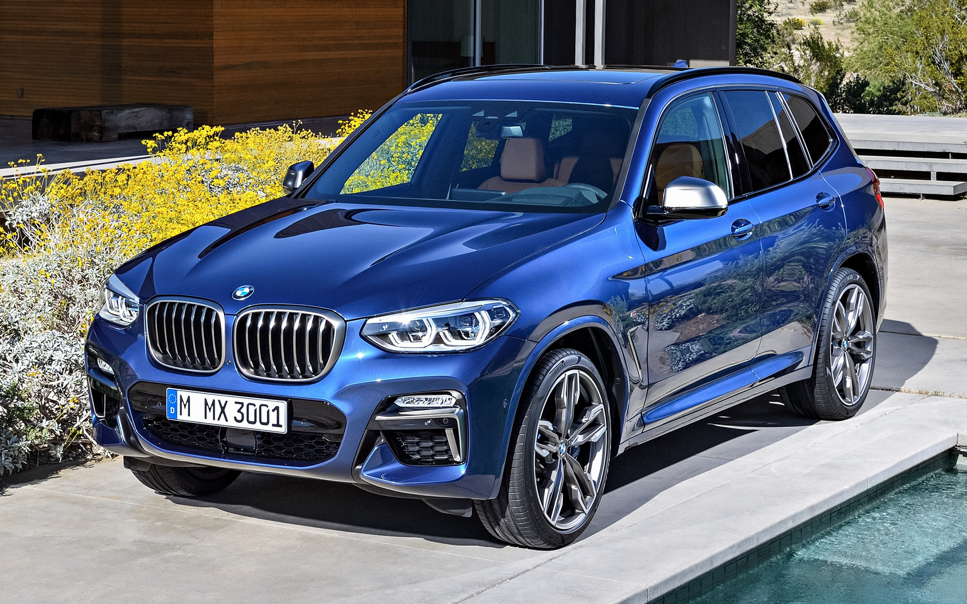 2017 BMW X3 M40i - Wallpapers and HD Images   Car Pixel