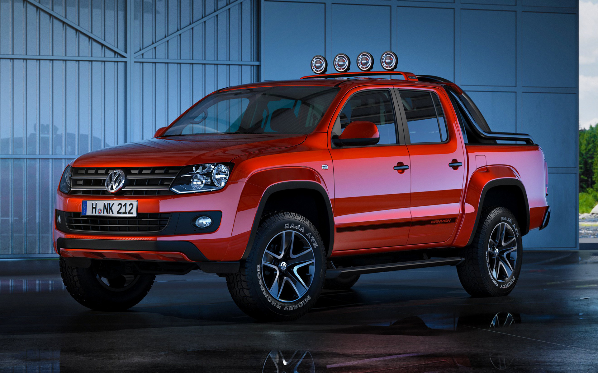 2012 Volkswagen Amarok Canyon Concept Wallpapers And Hd