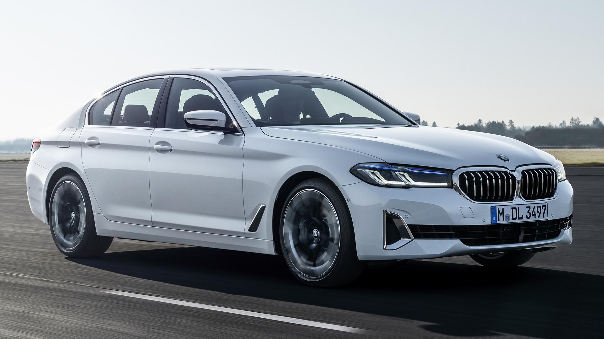 2020 BMW 550I Speed Test