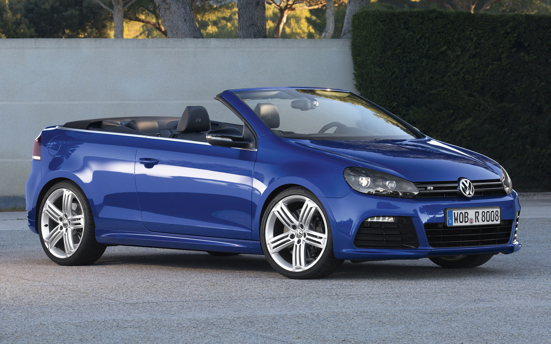 volkswagen golf r cabriolet 2013 wallpapers and hd. Black Bedroom Furniture Sets. Home Design Ideas