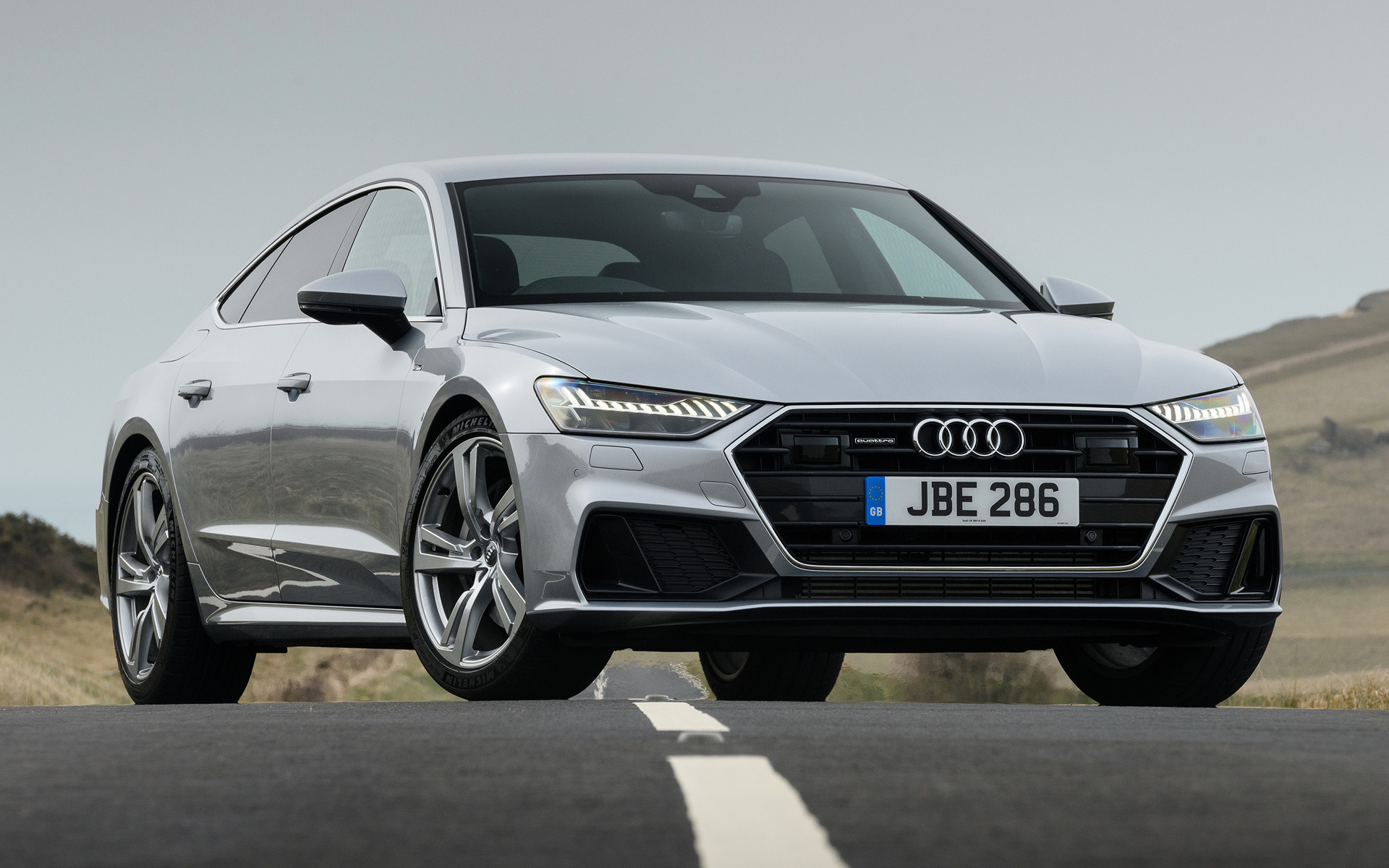 2018 Audi S5 >> 2018 Audi A7 Sportback S line (UK) - Wallpapers and HD Images | Car Pixel
