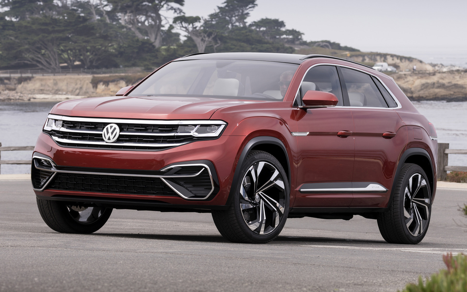 2018 Volkswagen Atlas Cross Sport Concept - Wallpapers and ...