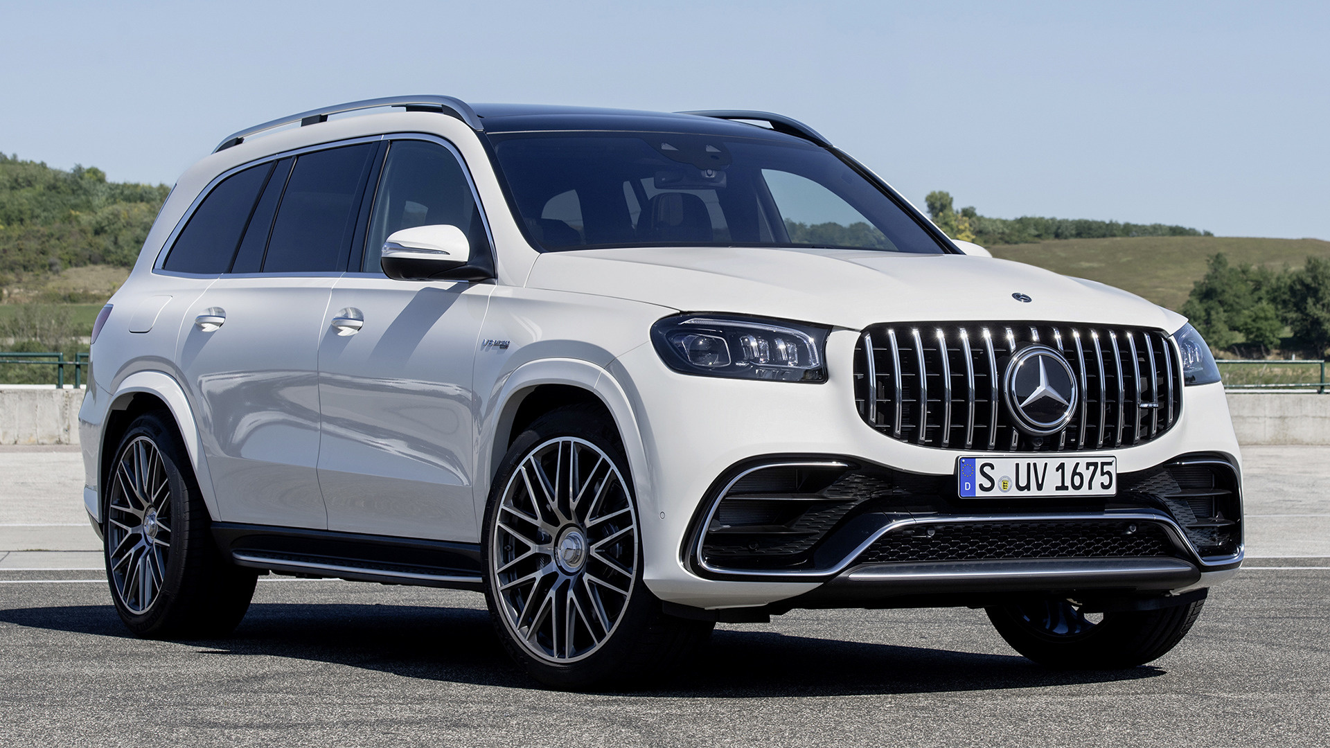 2020 Mercedes-AMG GLS 63 - Wallpapers and HD Images | Car ...