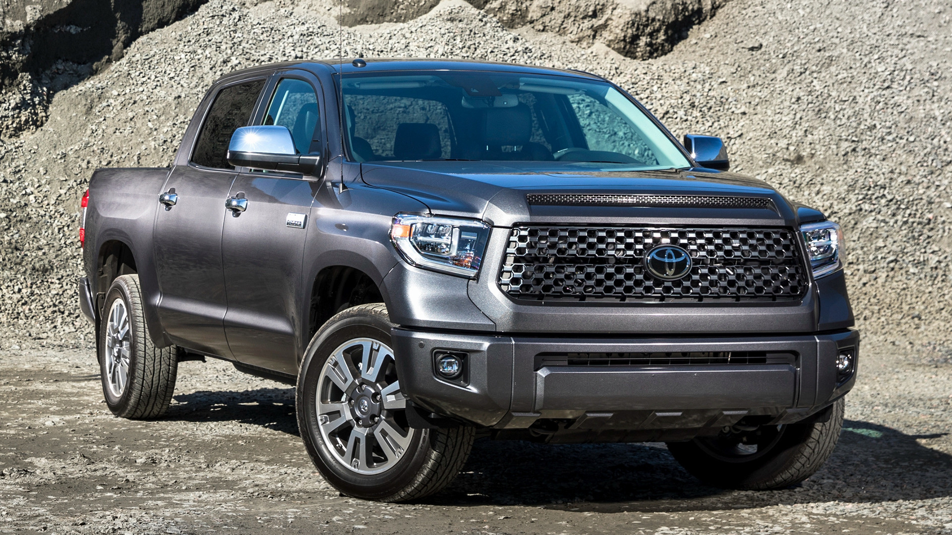 Trd Pro Tundra >> 2018 Toyota Tundra Platinum CrewMax - Wallpapers and HD ...