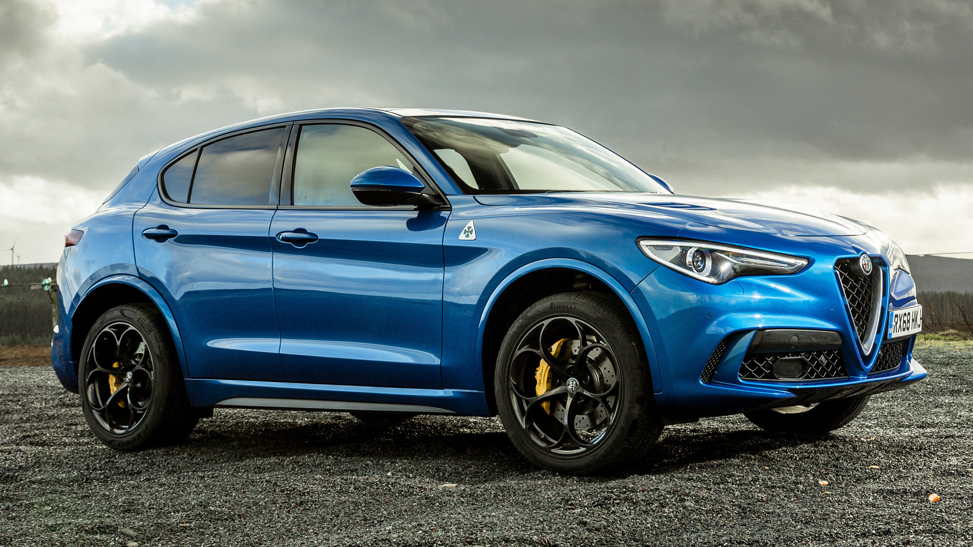 Alfa Romeo Stelvio Quadrifoglio Wallpaper Hd on Alfa Romeo Stelvio
