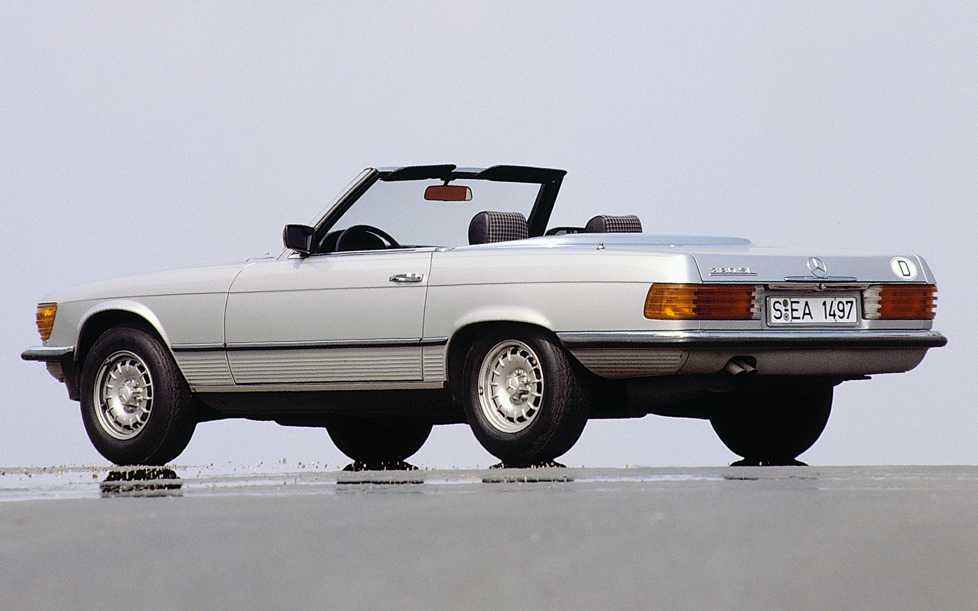 1980 Mercedes-Benz 380 SL - Wallpapers and HD Images | Car ...