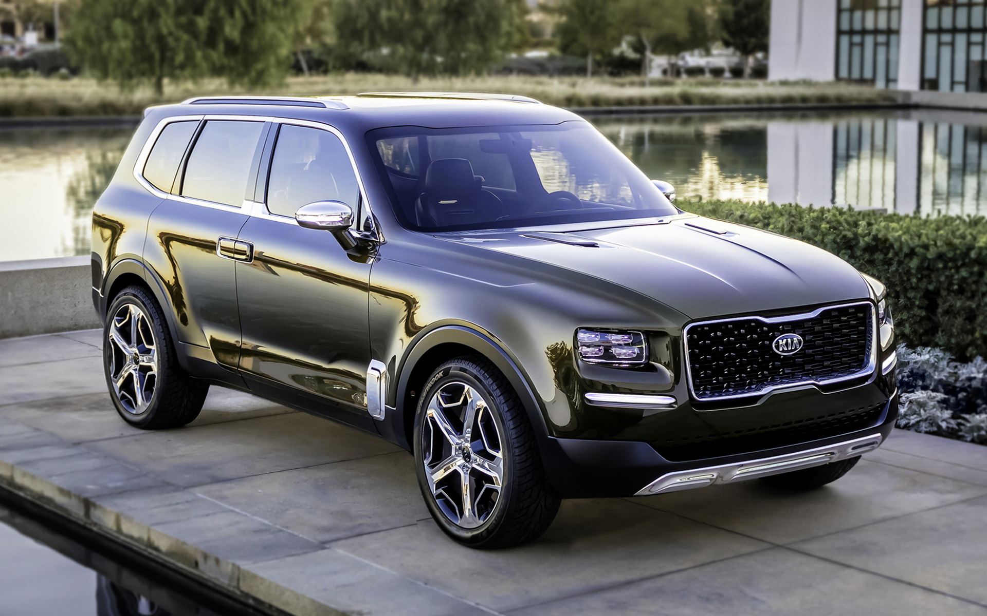 Kia Telluride Concept (2016) Wallpapers and HD Images ...