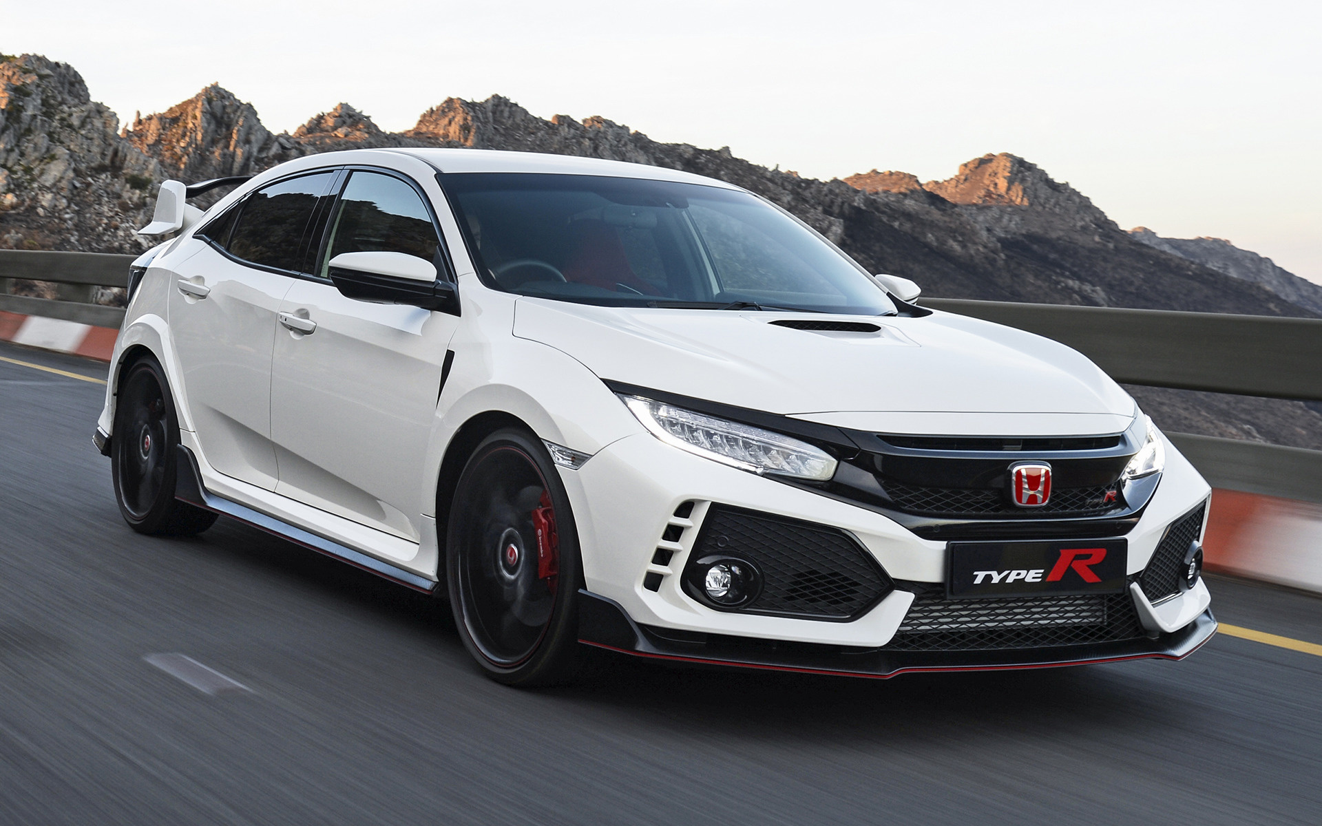 2018 Civic Type R >> 2018 Honda Civic Type R (ZA) - Wallpapers and HD Images | Car Pixel