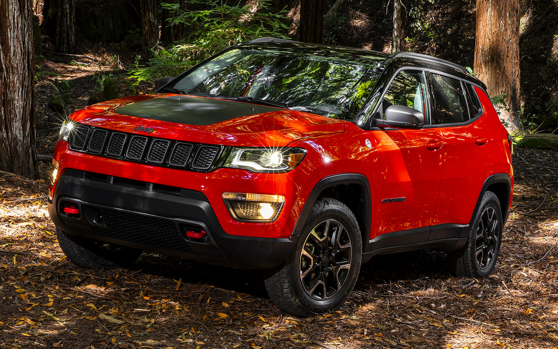 Toyota Land Rover >> Jeep Compass Trailhawk (2017) Wallpapers and HD Images - Car Pixel
