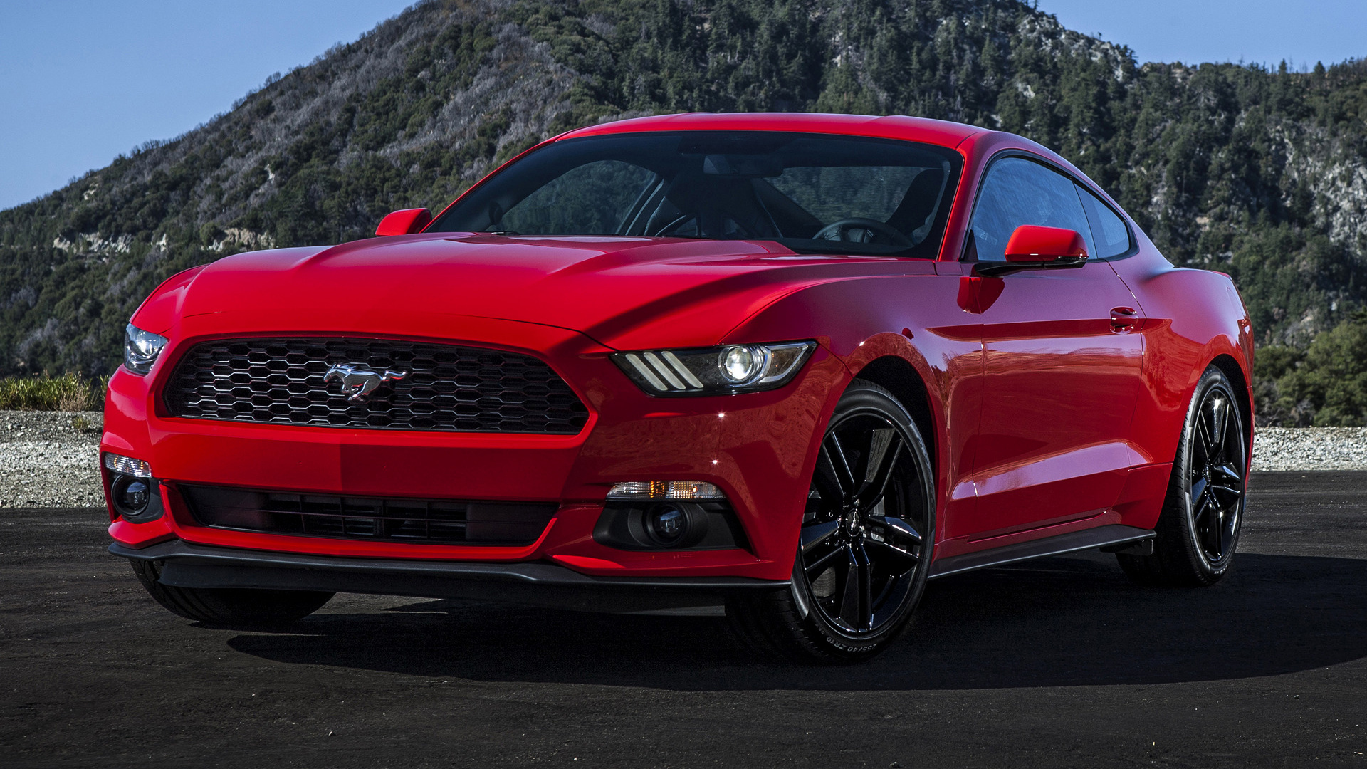 2018 Ford Mustang Convertible >> Ford Mustang EcoBoost (2015) Wallpapers and HD Images - Car Pixel