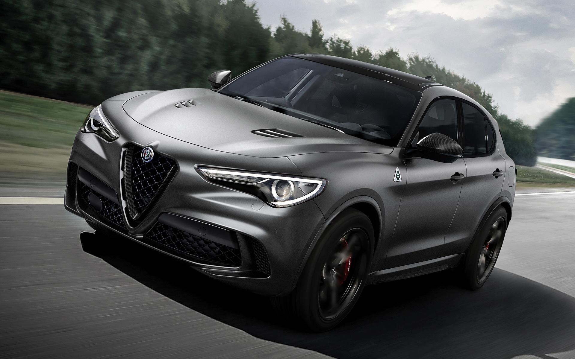 Alfa Romeo Stelvio Quadrifoglio Nring 2018 Wallpapers