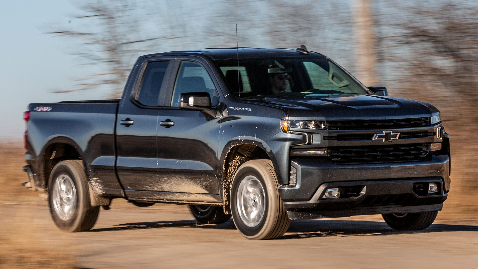 2019 Chevrolet Silverado Rst Double Cab Wallpapers And