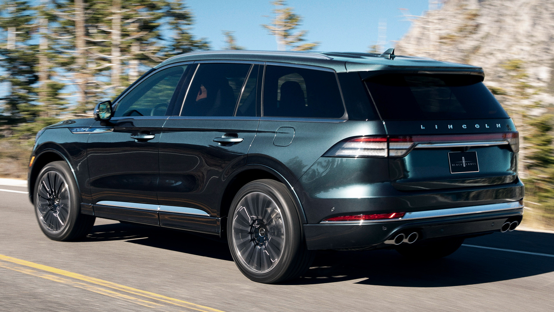 2020 Lincoln Aviator Black Label Wallpapers And Hd