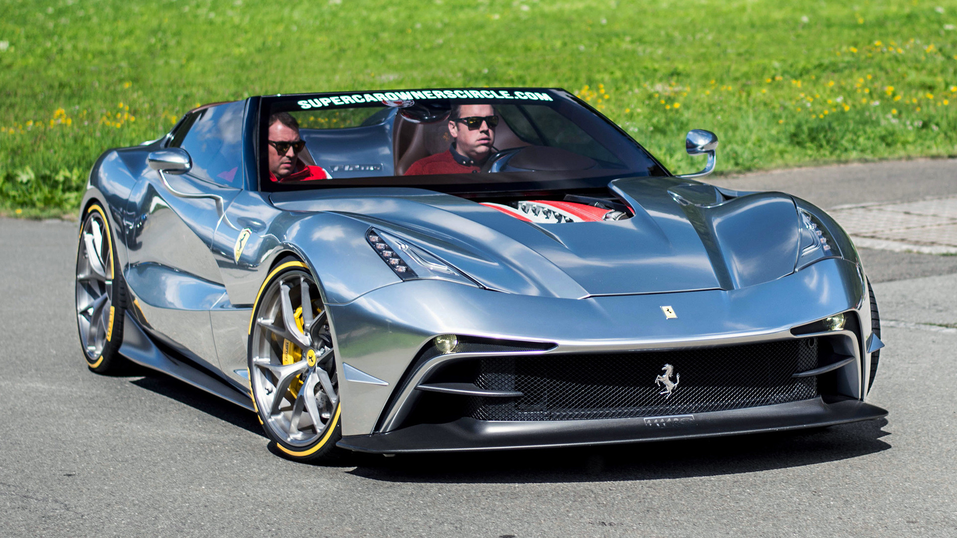 2015 Ferrari F12 Trs Wallpapers And Hd Images Car Pixel