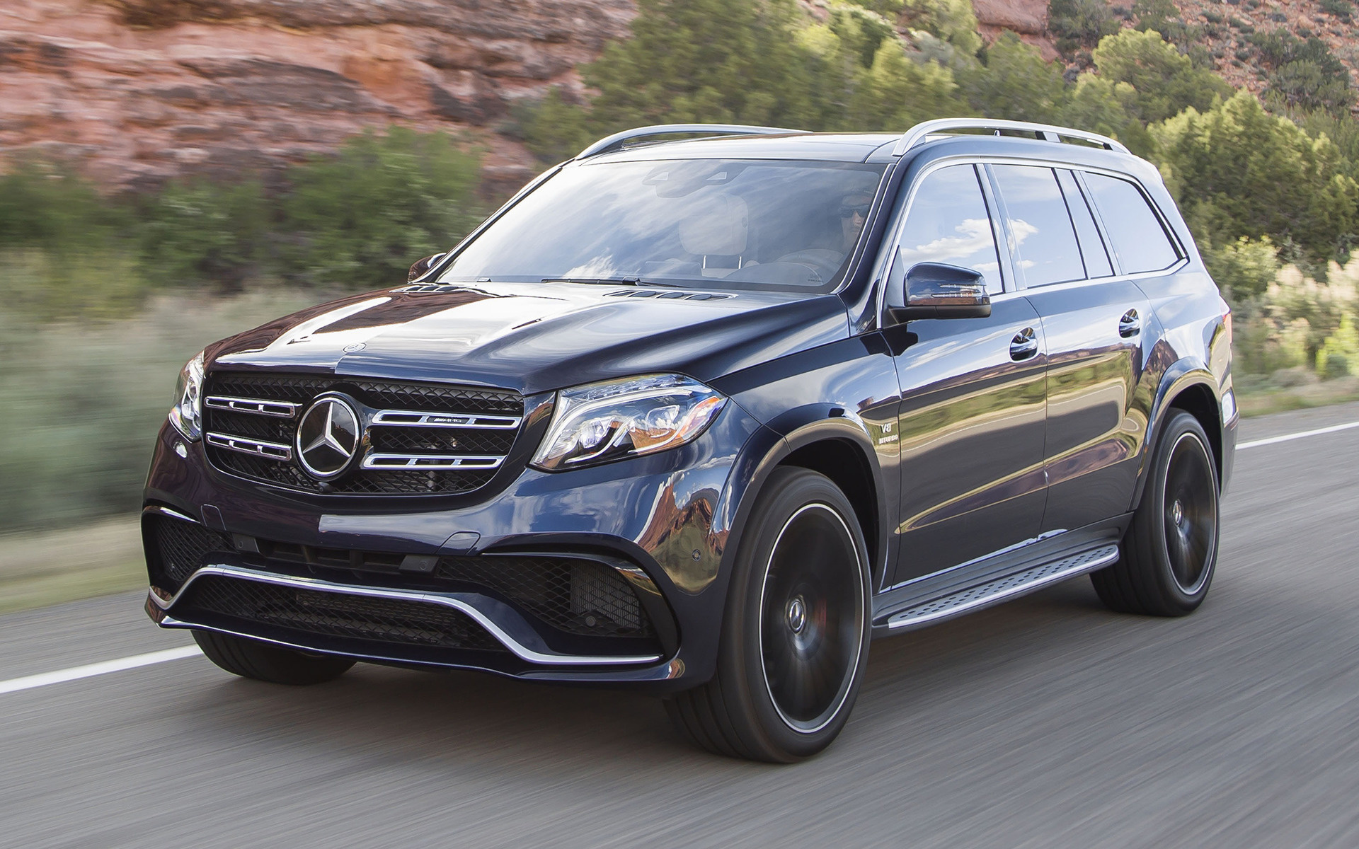 2017 Mercedes Amg Gls 63 Us Wallpapers And Hd Images