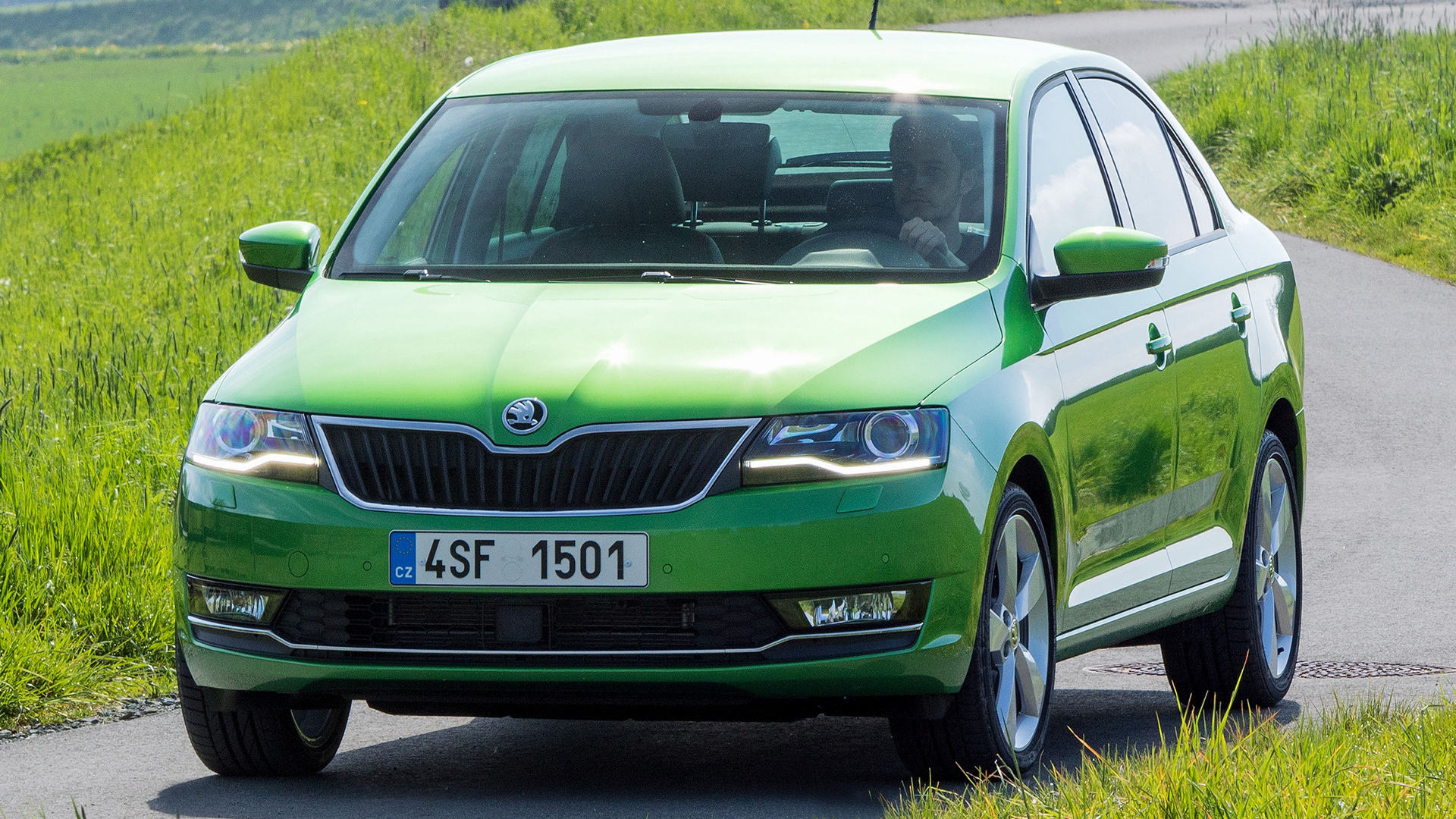 2017 Skoda Rapid - Wallpapers and HD Images | Car Pixel