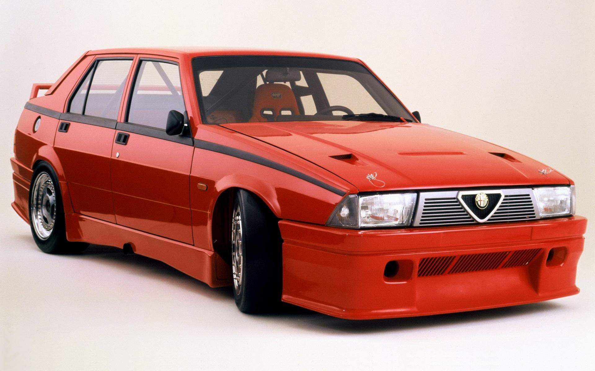 1987 Alfa Romeo 75 Turbo Tcc Prototype Wallpapers And Hd Images Car Pixel
