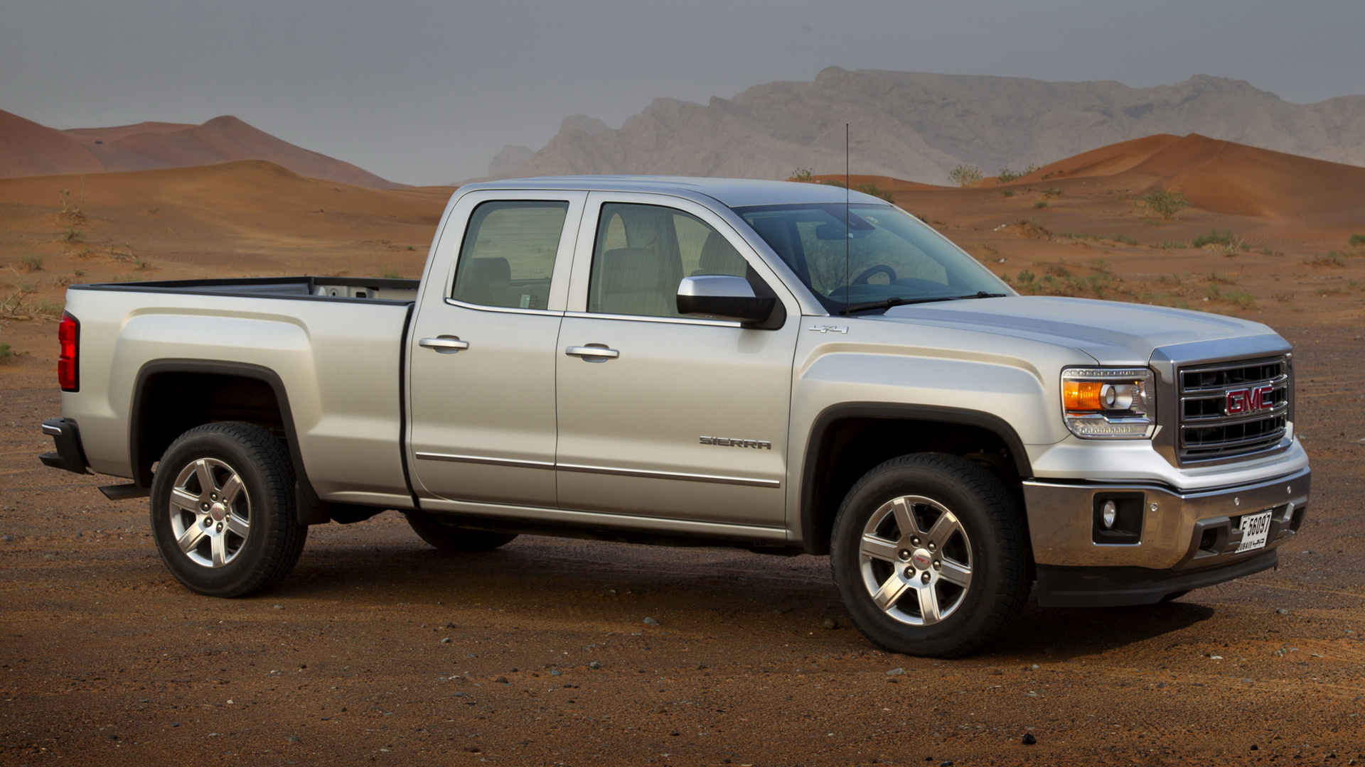 2014 GMC Sierra 1500 SLT Double Cab - Wallpapers and HD Images | Car Pixel