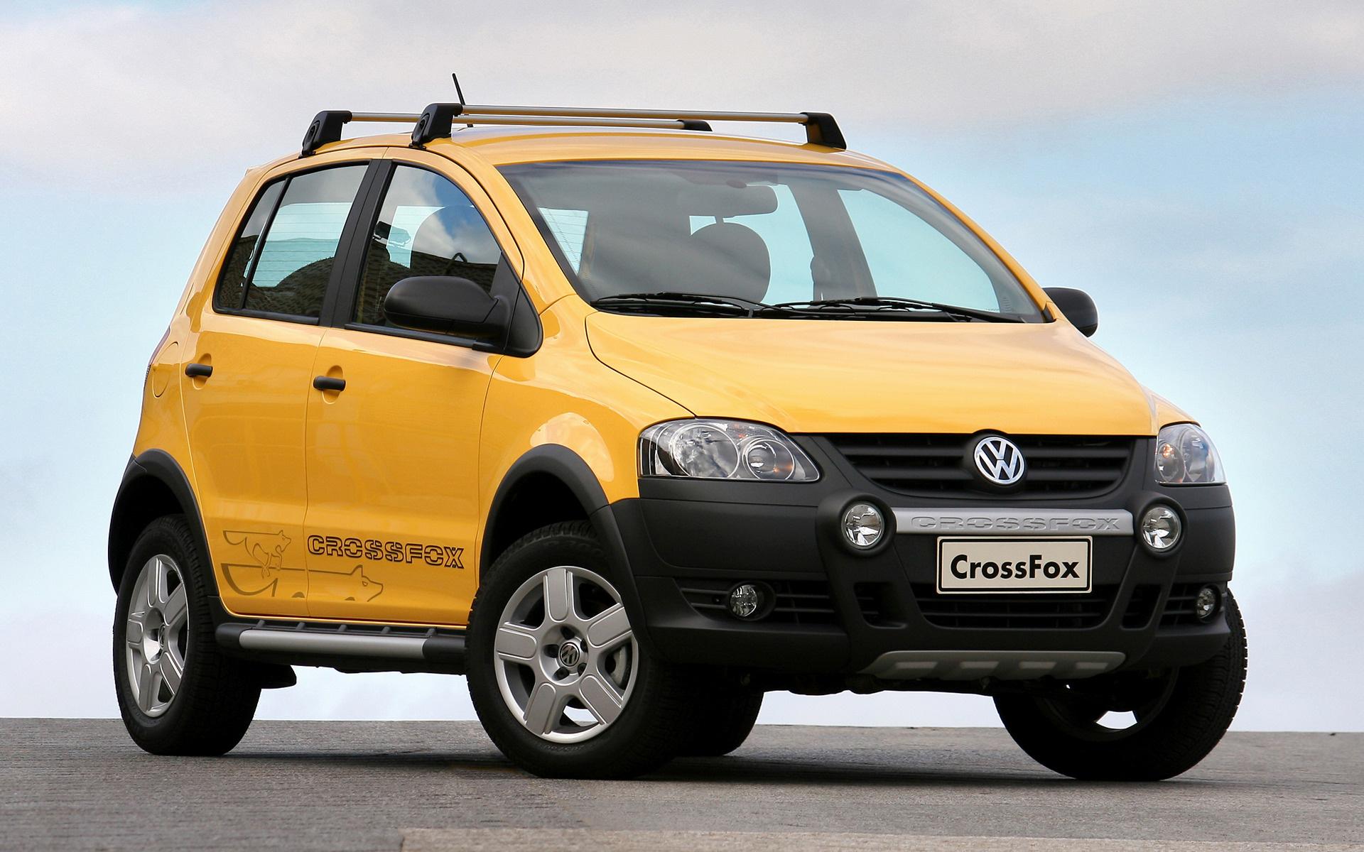 2008 Volkswagen Crossfox Wallpapers And Hd Images Car Pixel