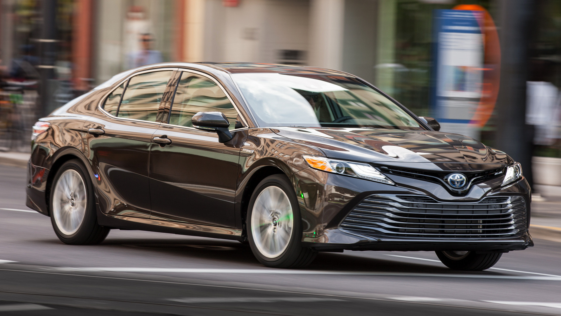 toyota camry hybrid xle 2018 wallpapers and hd images. Black Bedroom Furniture Sets. Home Design Ideas