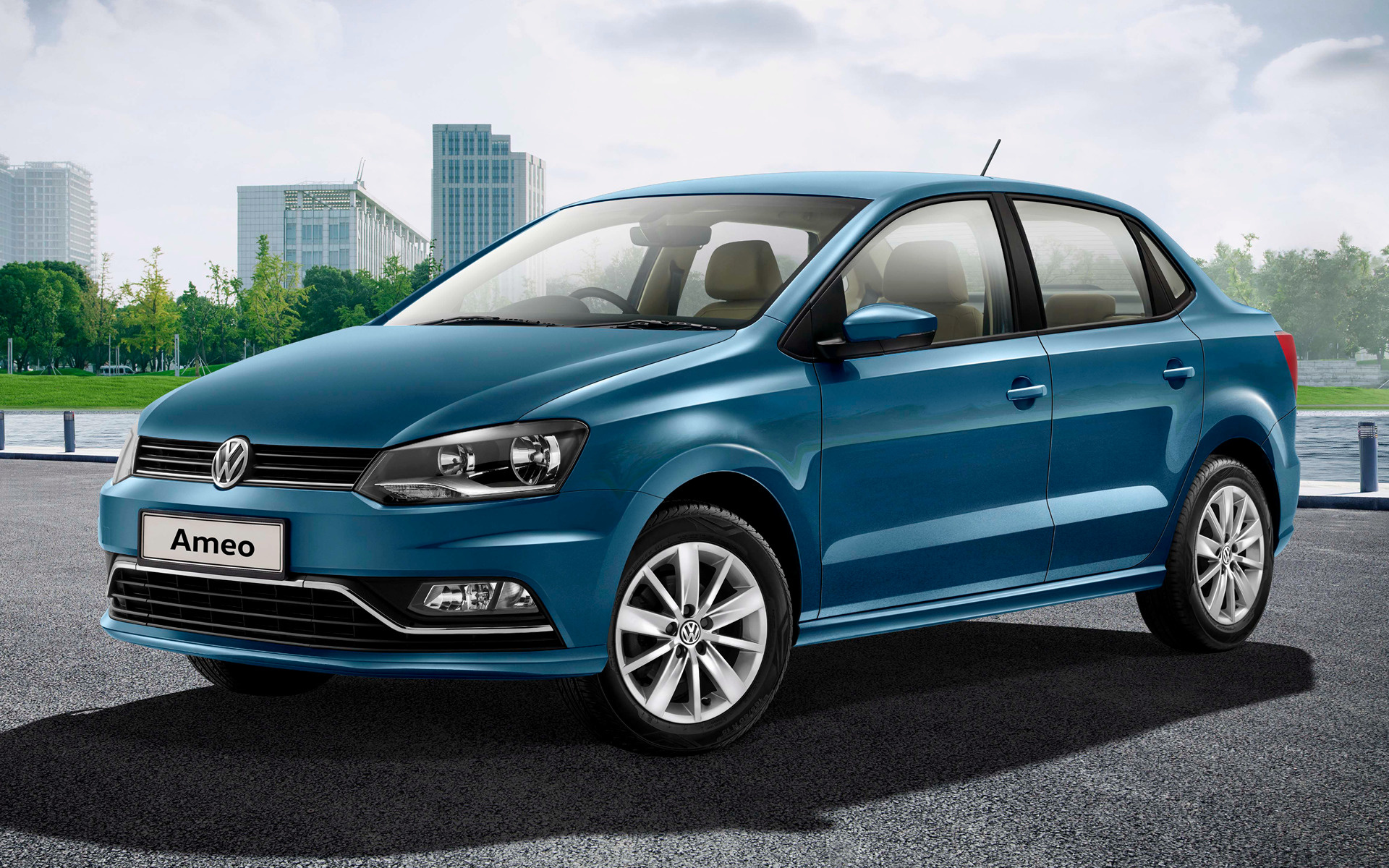 All Car Brands >> 2016 Volkswagen Ameo - Wallpapers and HD Images | Car Pixel