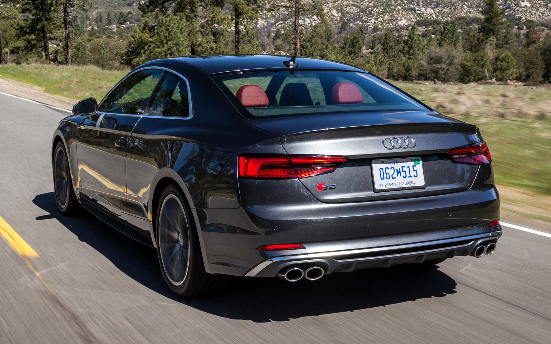 2018 Audi S5 Coupe Us Wallpapers And Hd Images Car Pixel