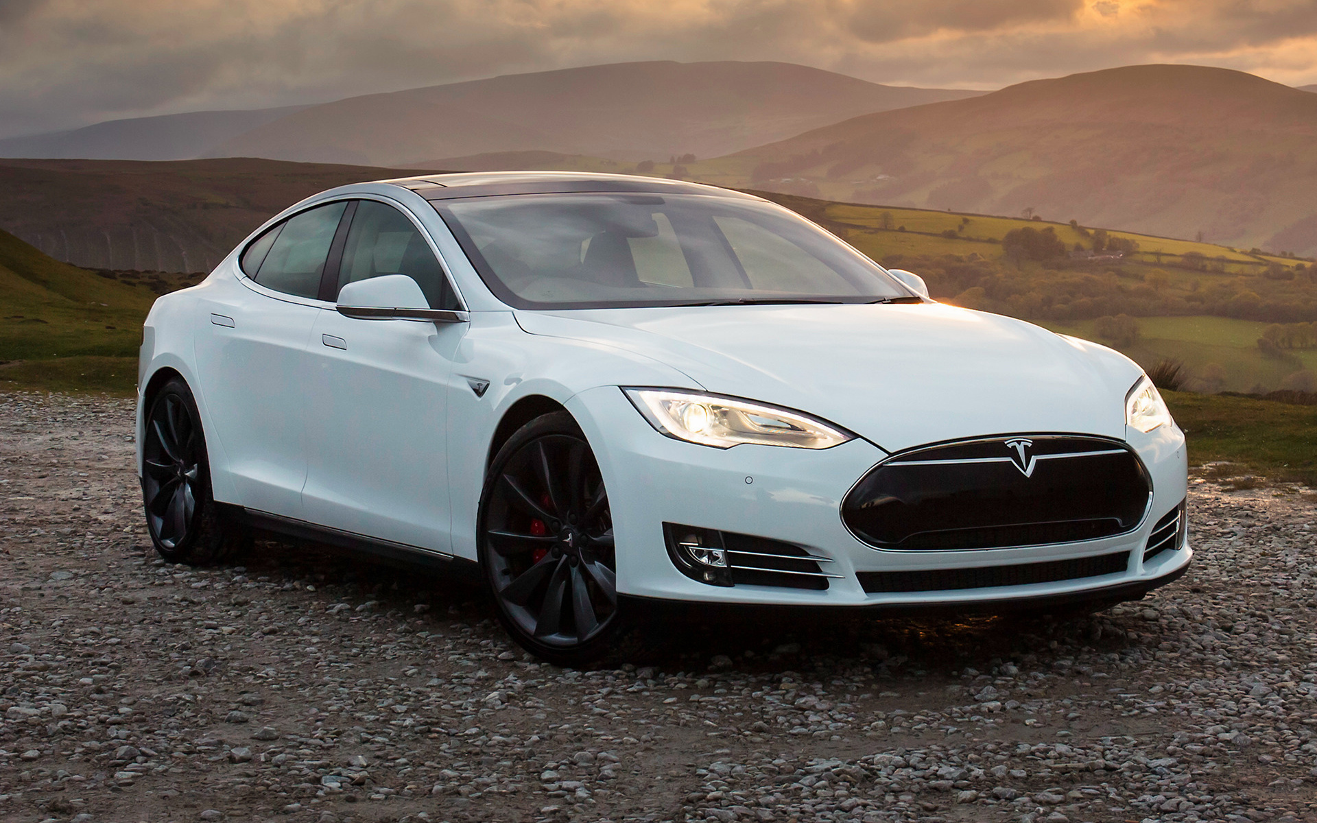 2014 Tesla Model S P85+ (UK) - Wallpapers and HD Images ...