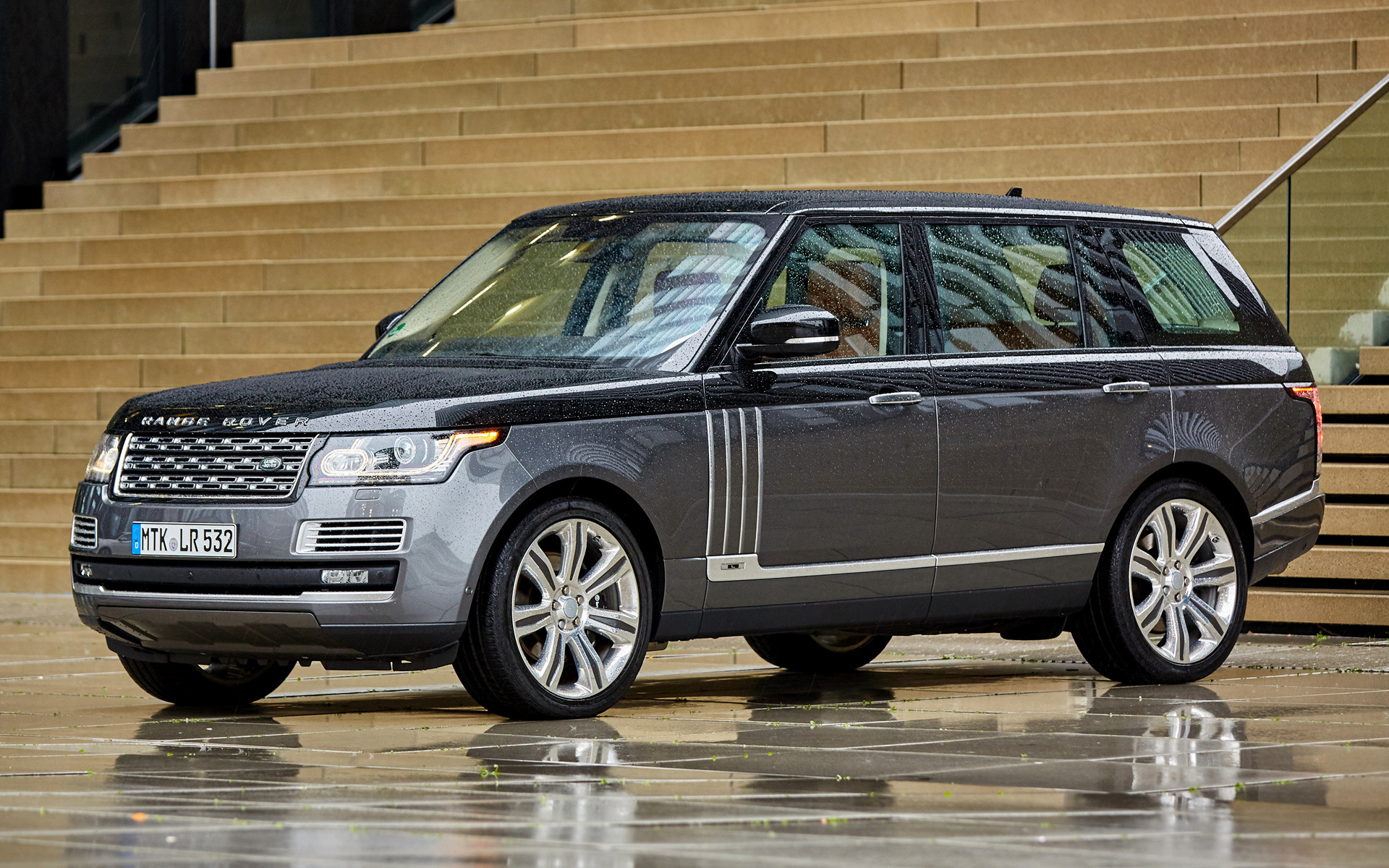range rover svautobiography lwb 2015 wallpapers and hd images car pixel. Black Bedroom Furniture Sets. Home Design Ideas