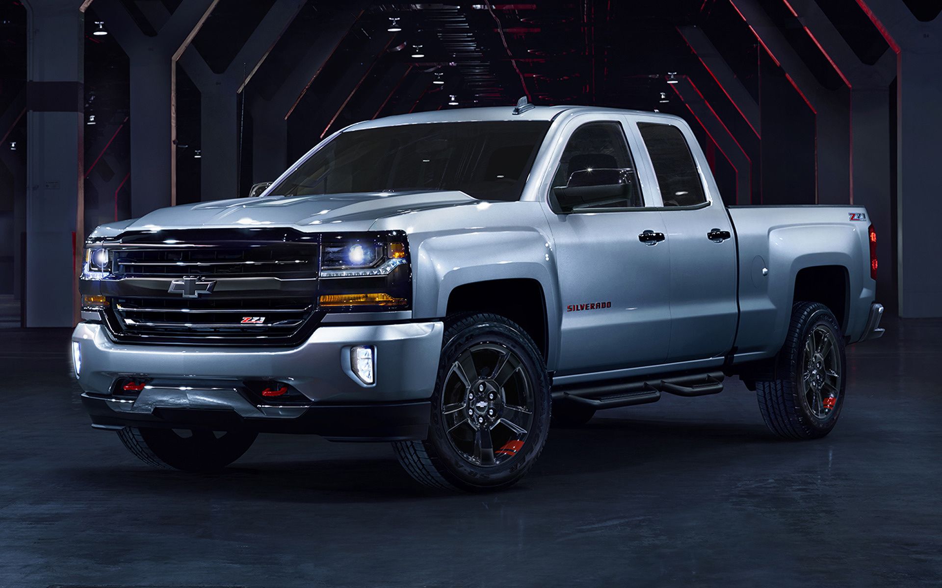 Chevrolet Silverado Z71 Redline Crew Cab 2017 Wallpapers