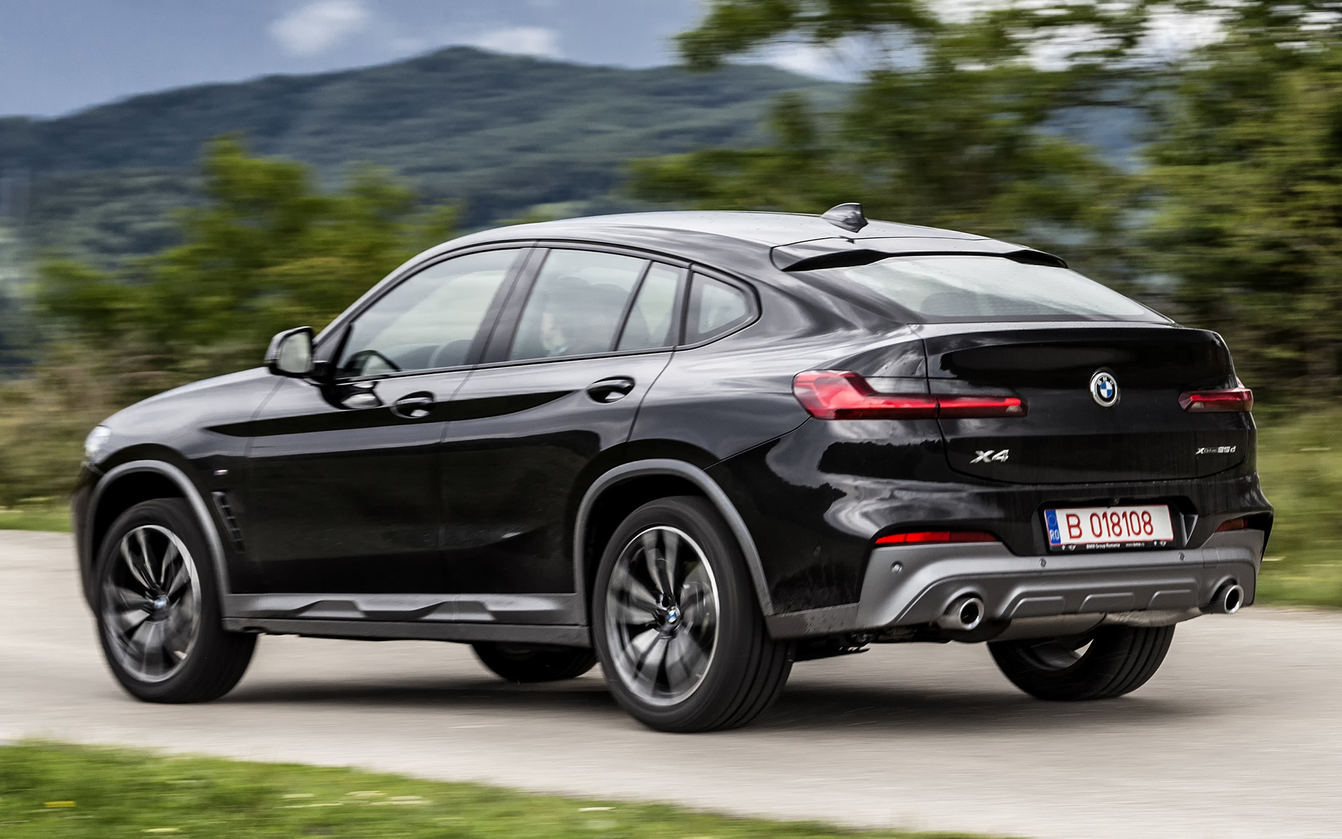 Bmw X4 M Sport >> 2018 Bmw X4 M Sport X Wallpapers And Hd Images Car Pixel