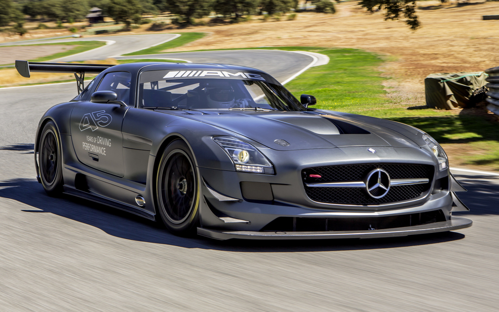 2012 Mercedes Benz Sls Amg Gt3 45th Anniversary