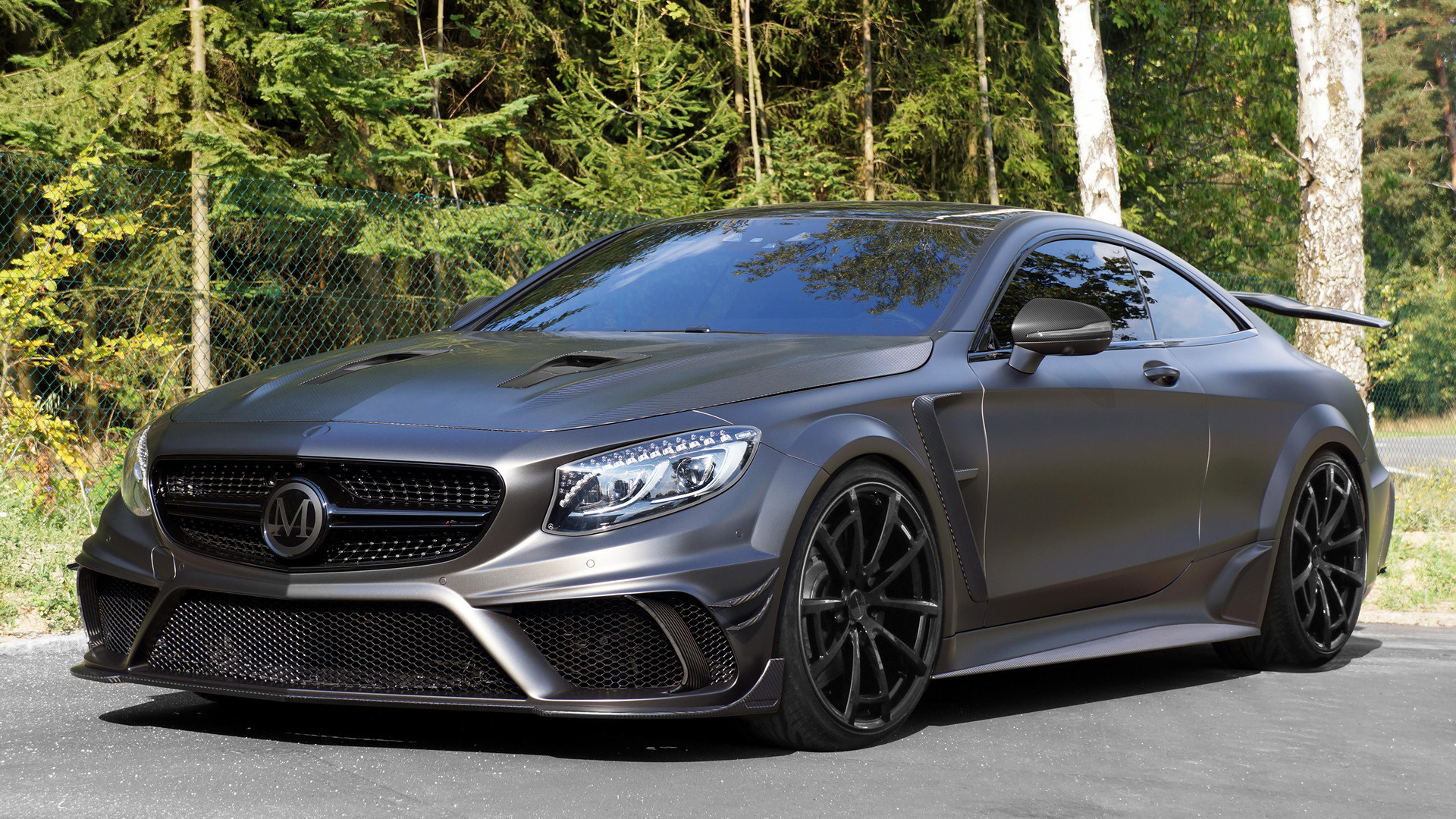 mercedes benz s 63 amg coupe black edition by mansory
