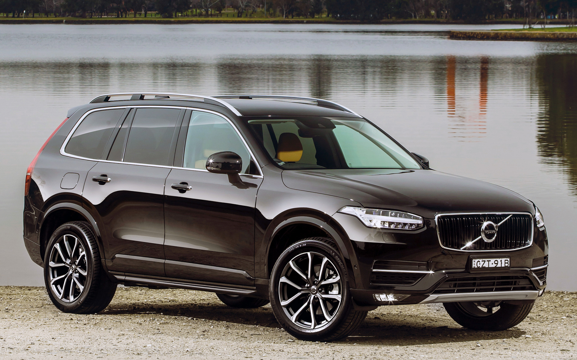 volvo xc90 momentum 2015 au wallpapers and hd images car pixel. Black Bedroom Furniture Sets. Home Design Ideas