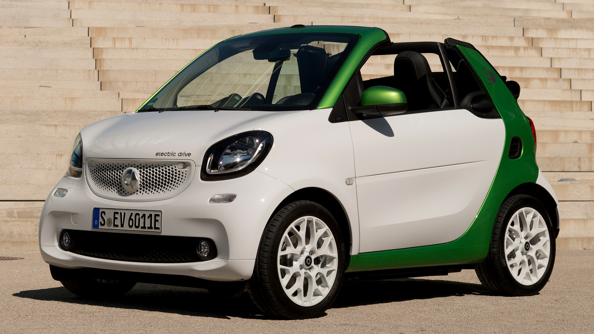 smart fortwo cabrio electric drive 2017 wallpapers and. Black Bedroom Furniture Sets. Home Design Ideas