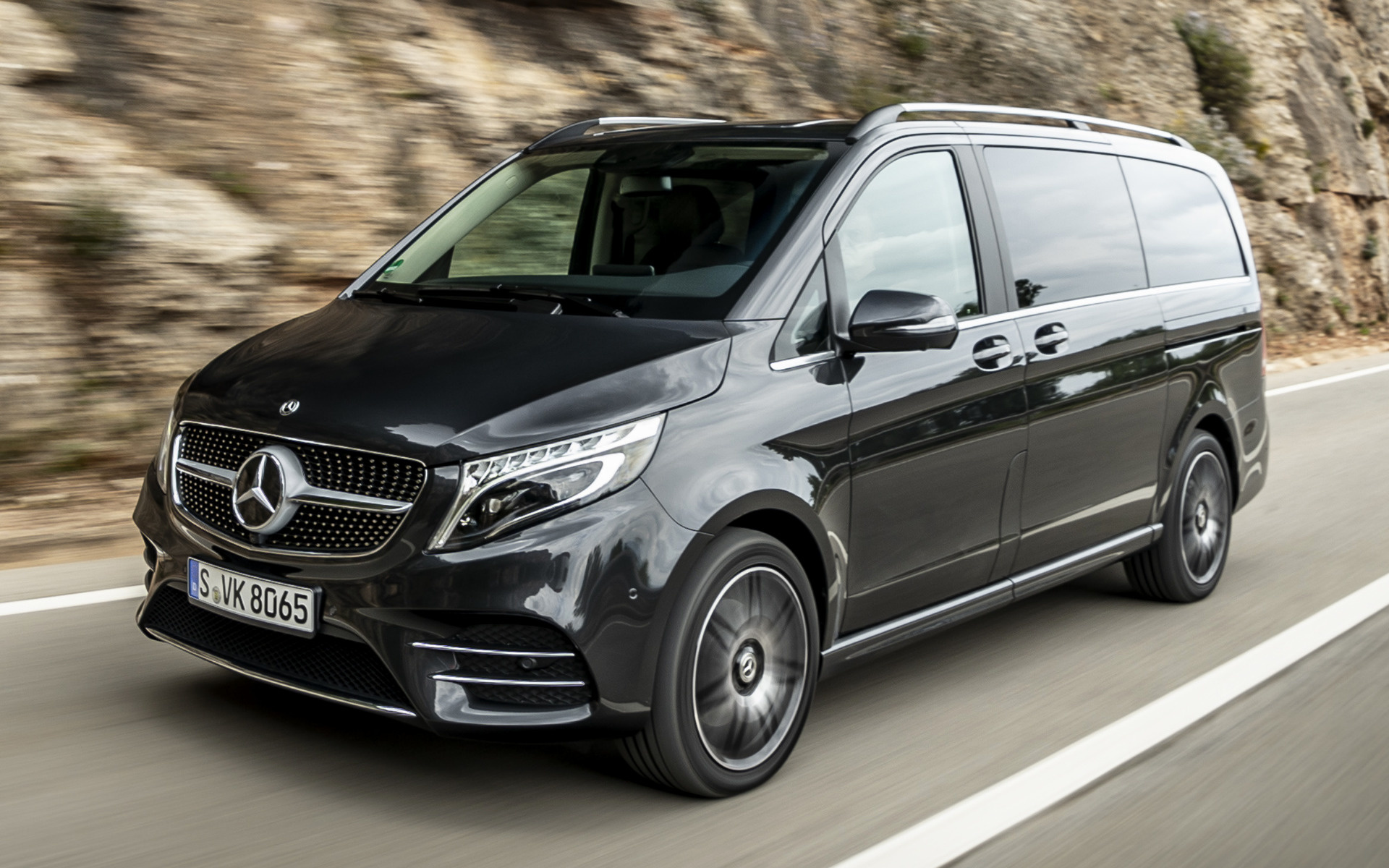2019 mercedes benz v class amg line long wallpapers and hd images car pixel 2019 mercedes benz v class amg line