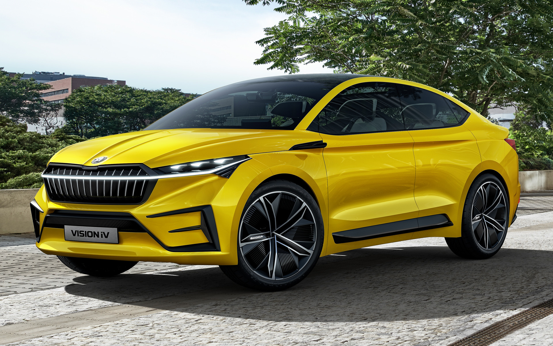 2019 Skoda Vision iV - Wallpapers and HD Images | Car Pixel