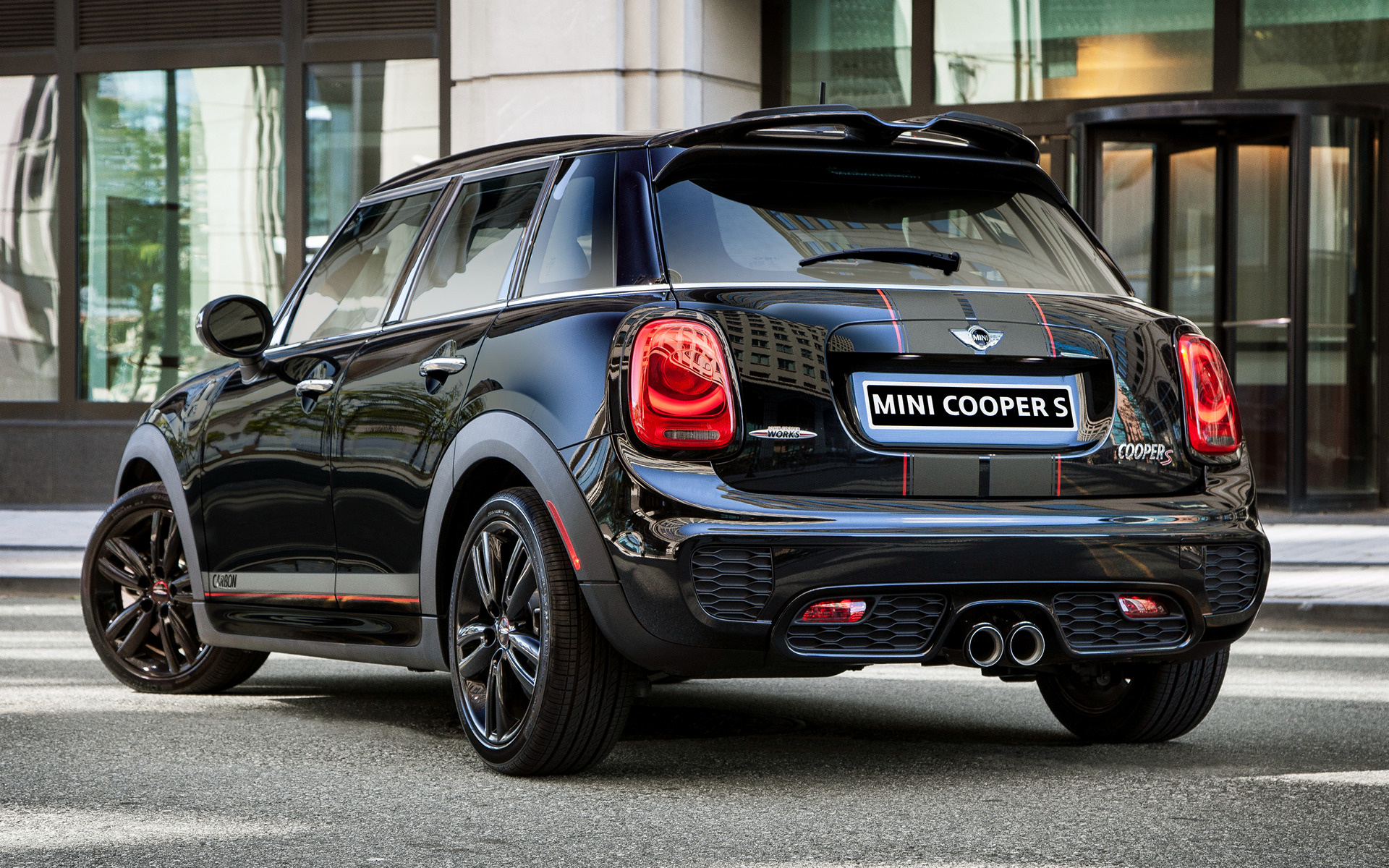 2016 Mini Cooper S Carbon Edition 5-door (US) - Wallpapers and HD Images | Car Pixel