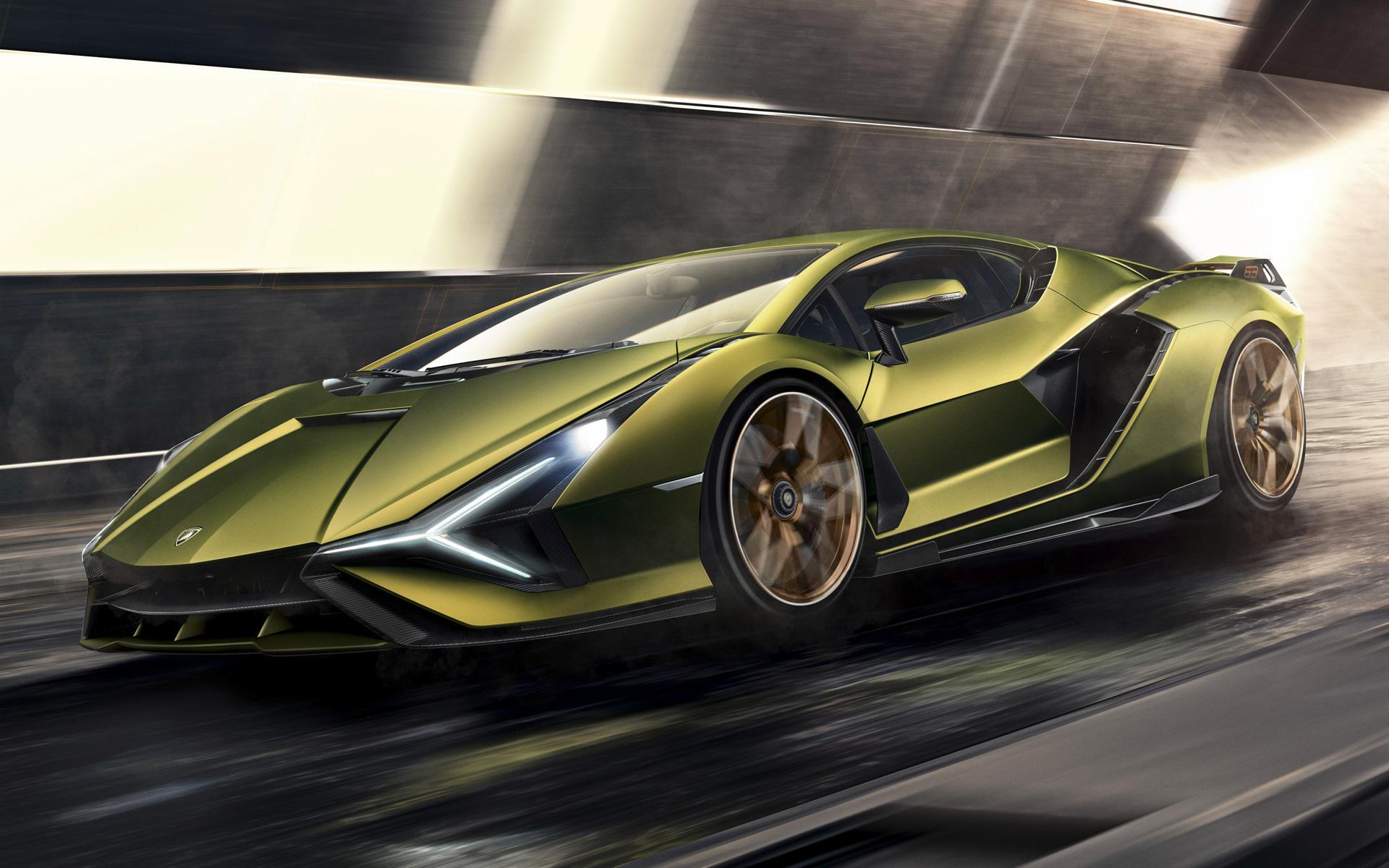 Lamborghini Sian Fkp  Wallpapers And Hd Images Car Pixel