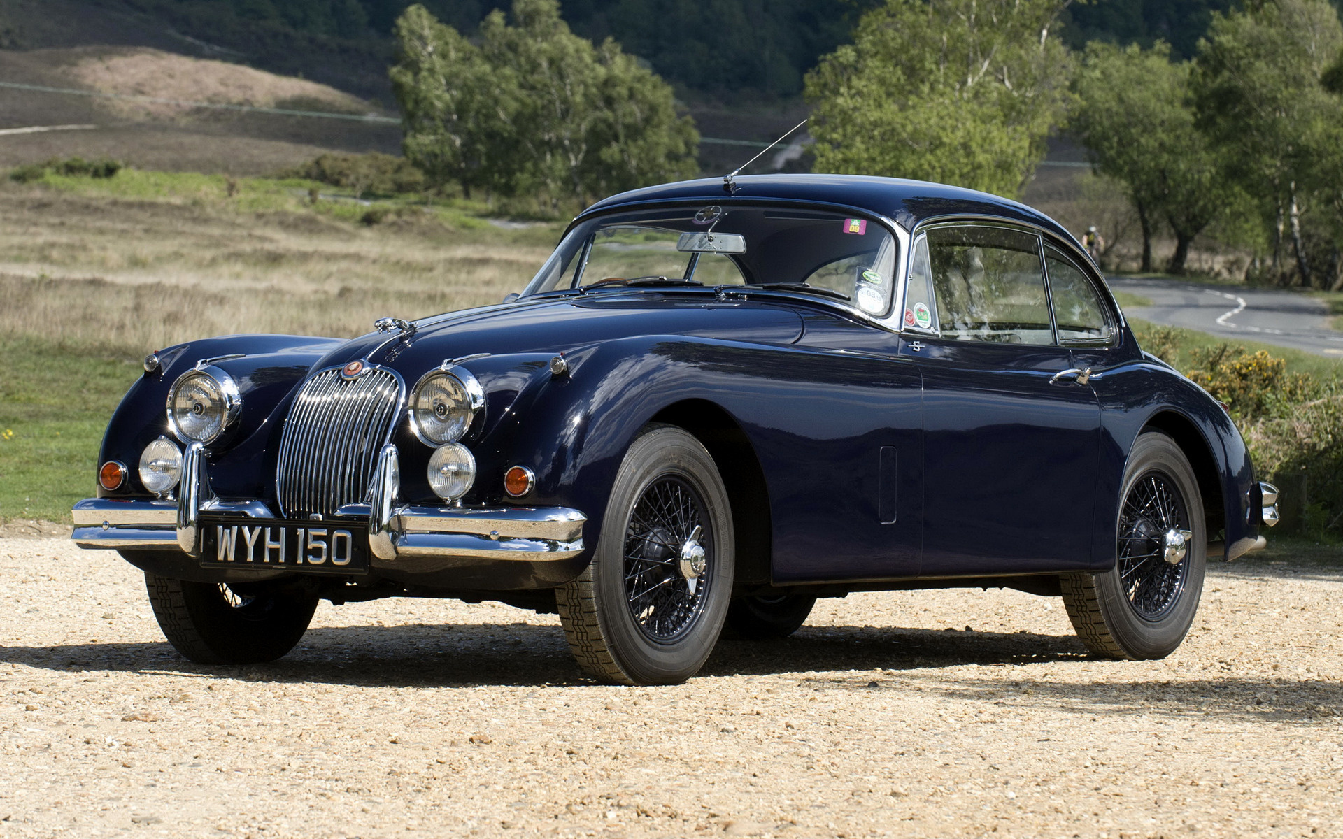 1959 Jaguar Xk150 S Fixed Head Coupe Uk Wallpapers And