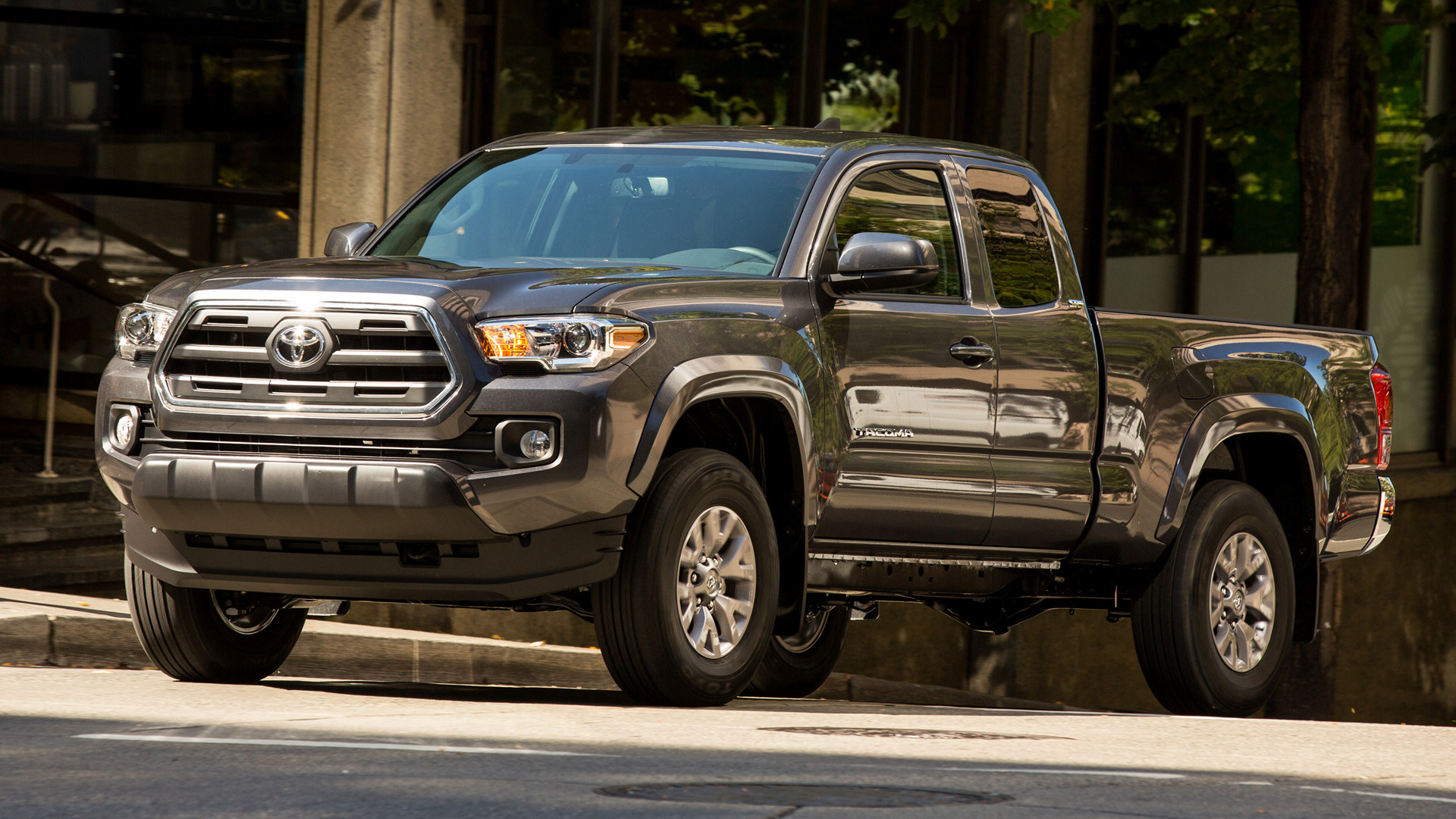 2016 Toyota Tacoma Sr5 >> 2016 Toyota Tacoma SR5 Access Cab - Wallpapers and HD Images | Car Pixel