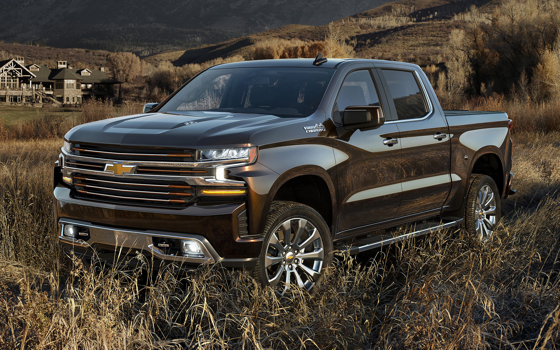 2019 Chevrolet Silverado High Country Crew Cab ...