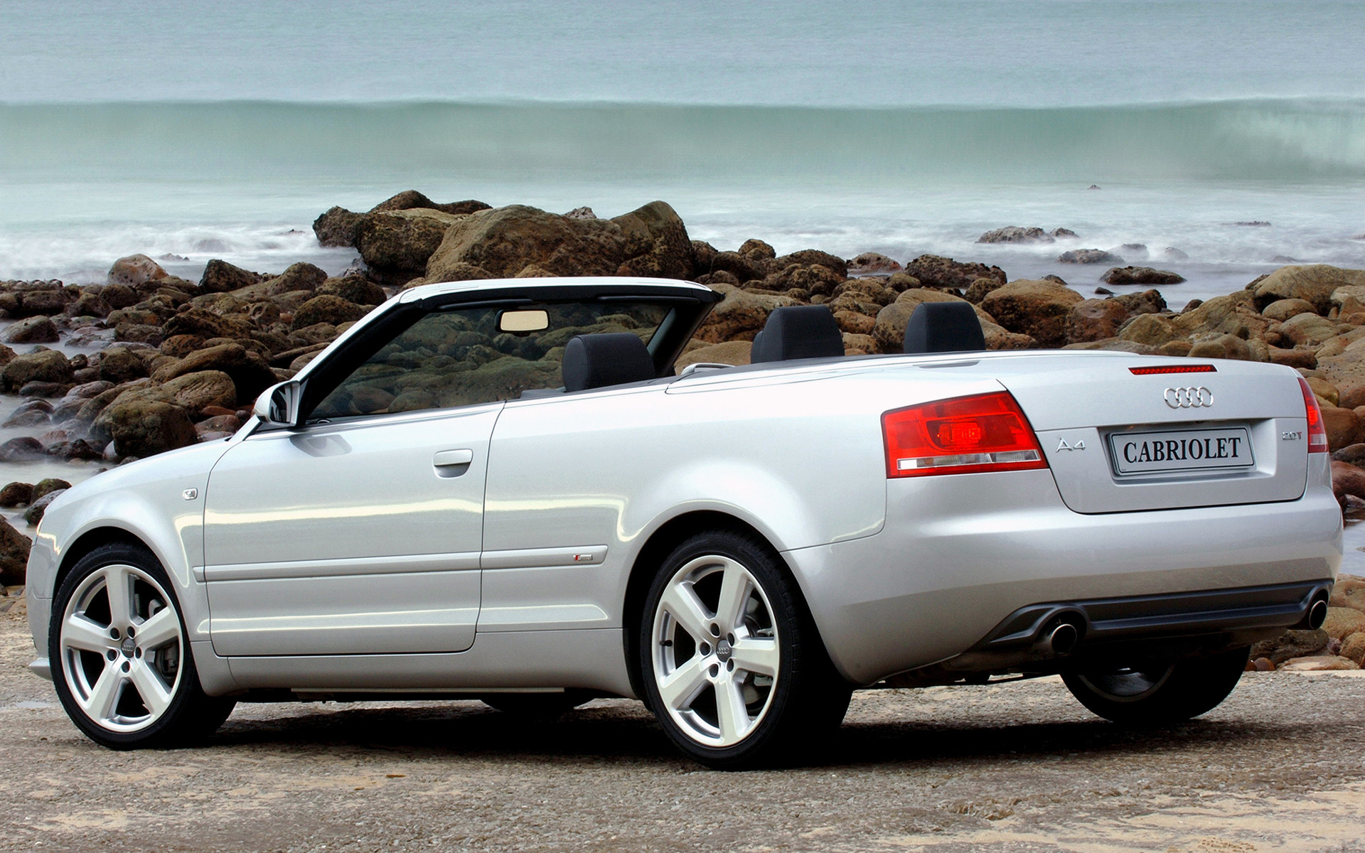 2005 audi a4 cabriolet s line za wallpapers and hd. Black Bedroom Furniture Sets. Home Design Ideas