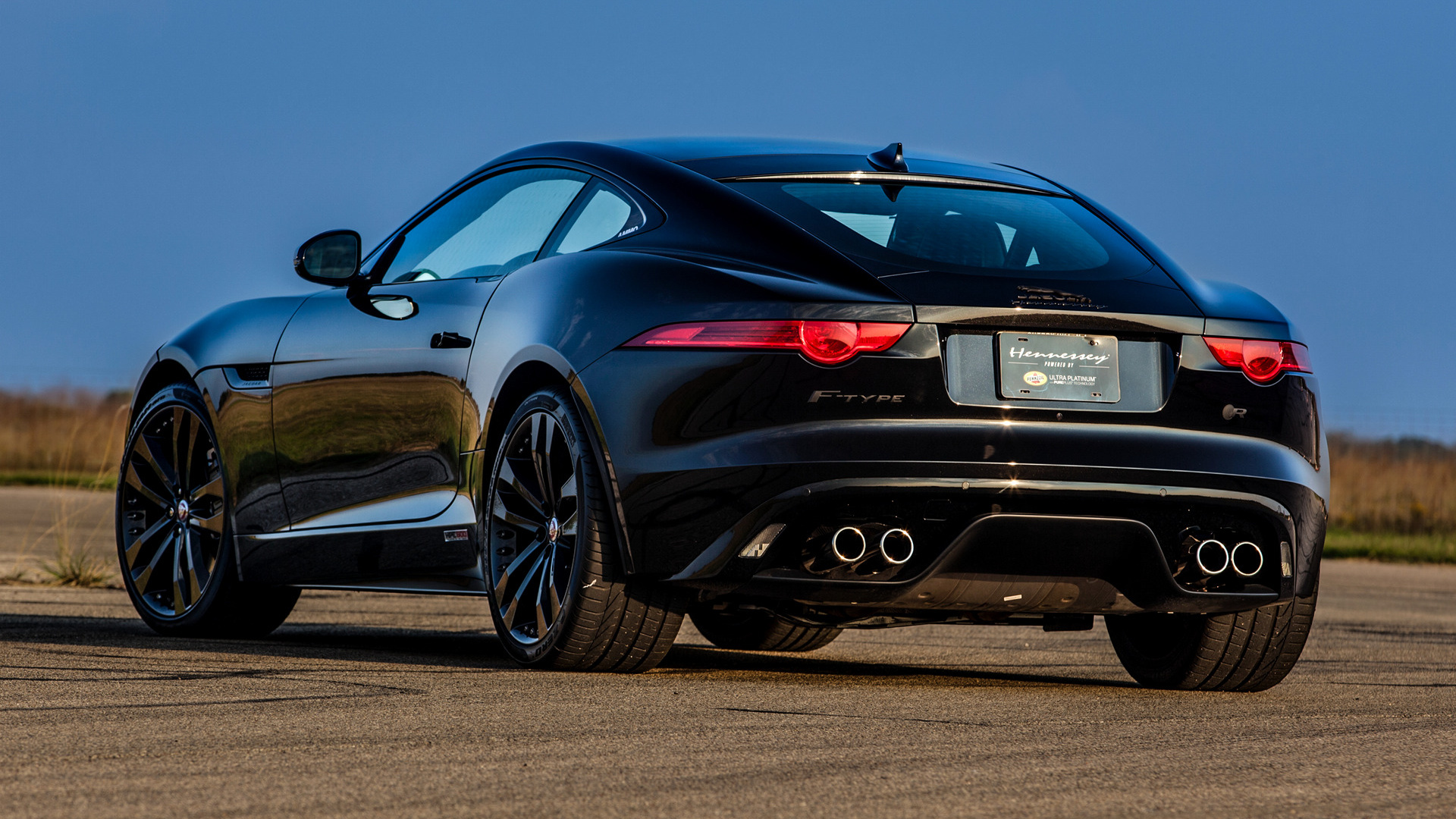 jaguar f-type r coupe hpe600hennessey (2015) wallpapers and hd
