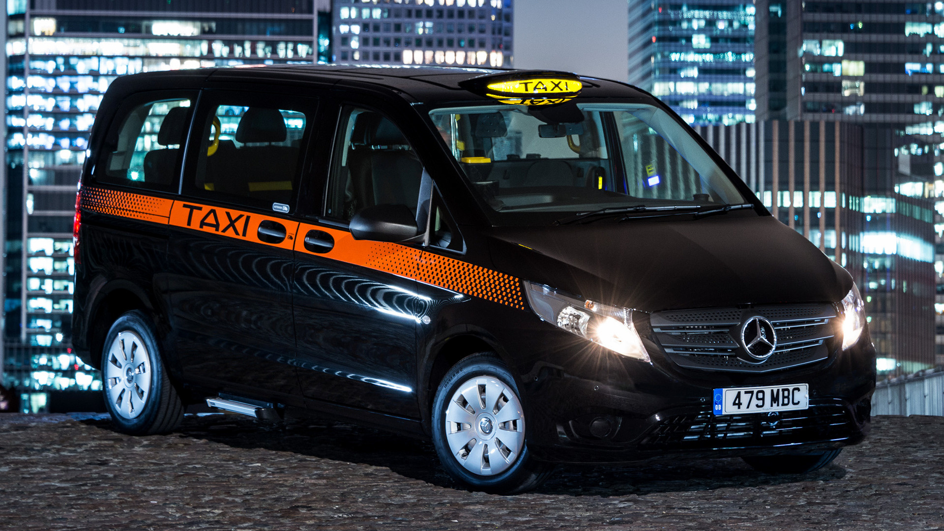 2017 Mercedes Benz Vito Taxi Uk Wallpapers And Hd