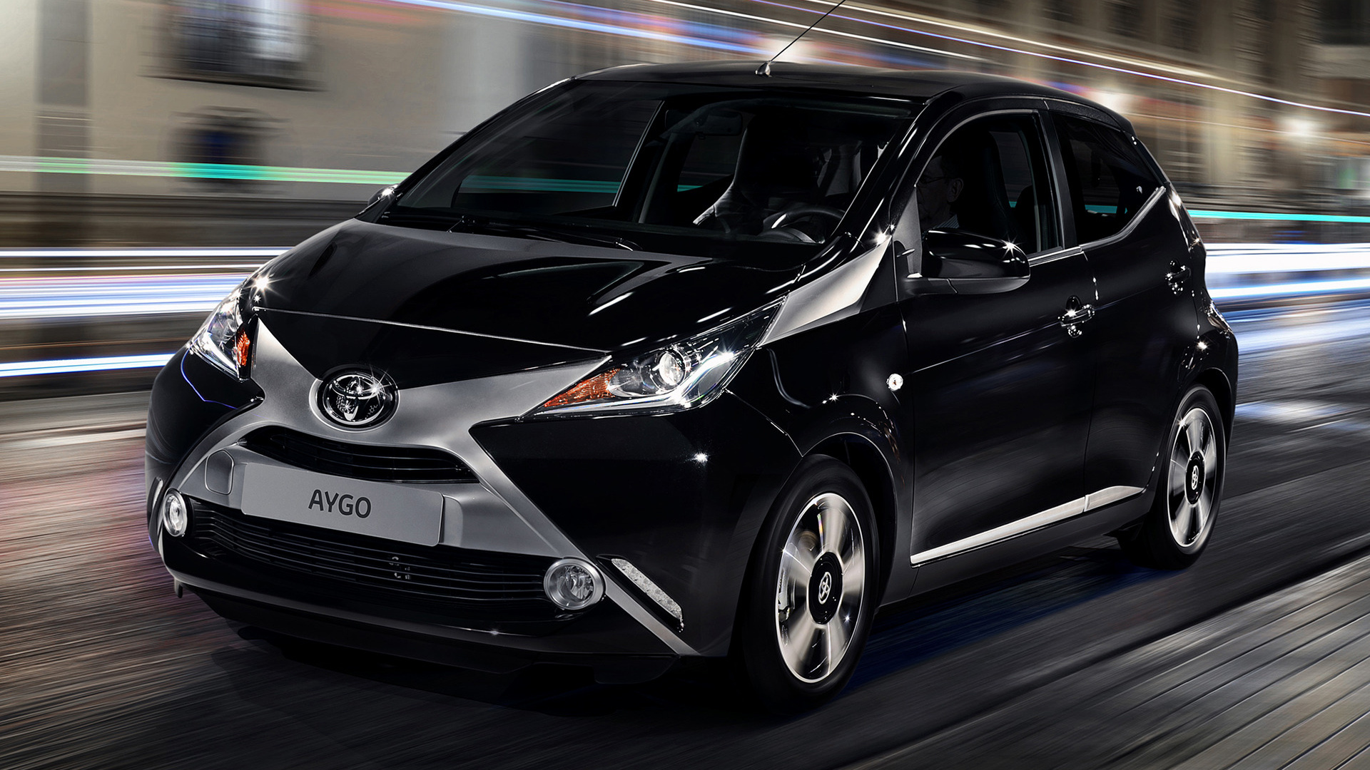 toyota aygo x clusiv 5 door 2014 wallpapers and hd images car pixel. Black Bedroom Furniture Sets. Home Design Ideas