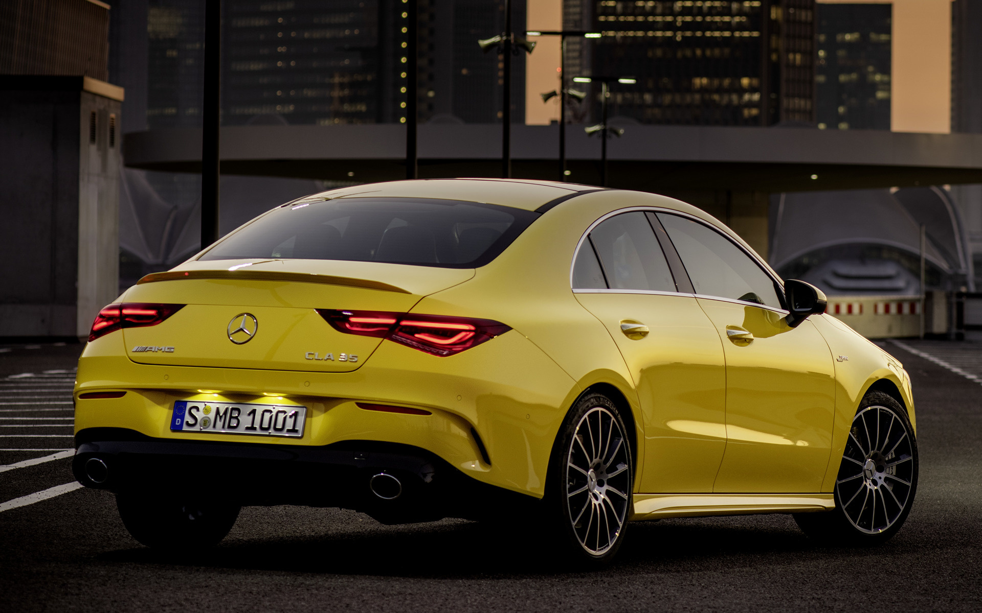 Mercedes Benz Cla >> 2019 Mercedes-AMG CLA 35 - Wallpapers and HD Images | Car Pixel