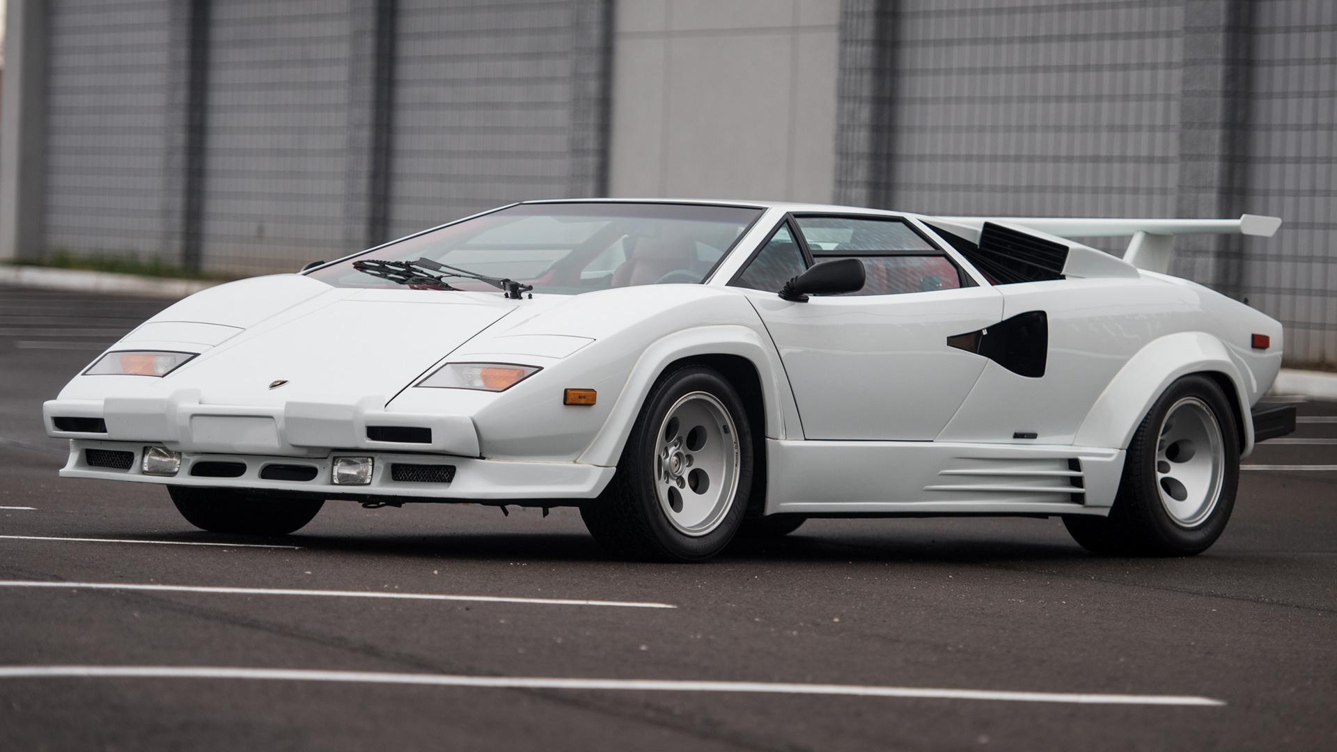1987 Lamborghini Countach 5000 Quattrovalvole Us
