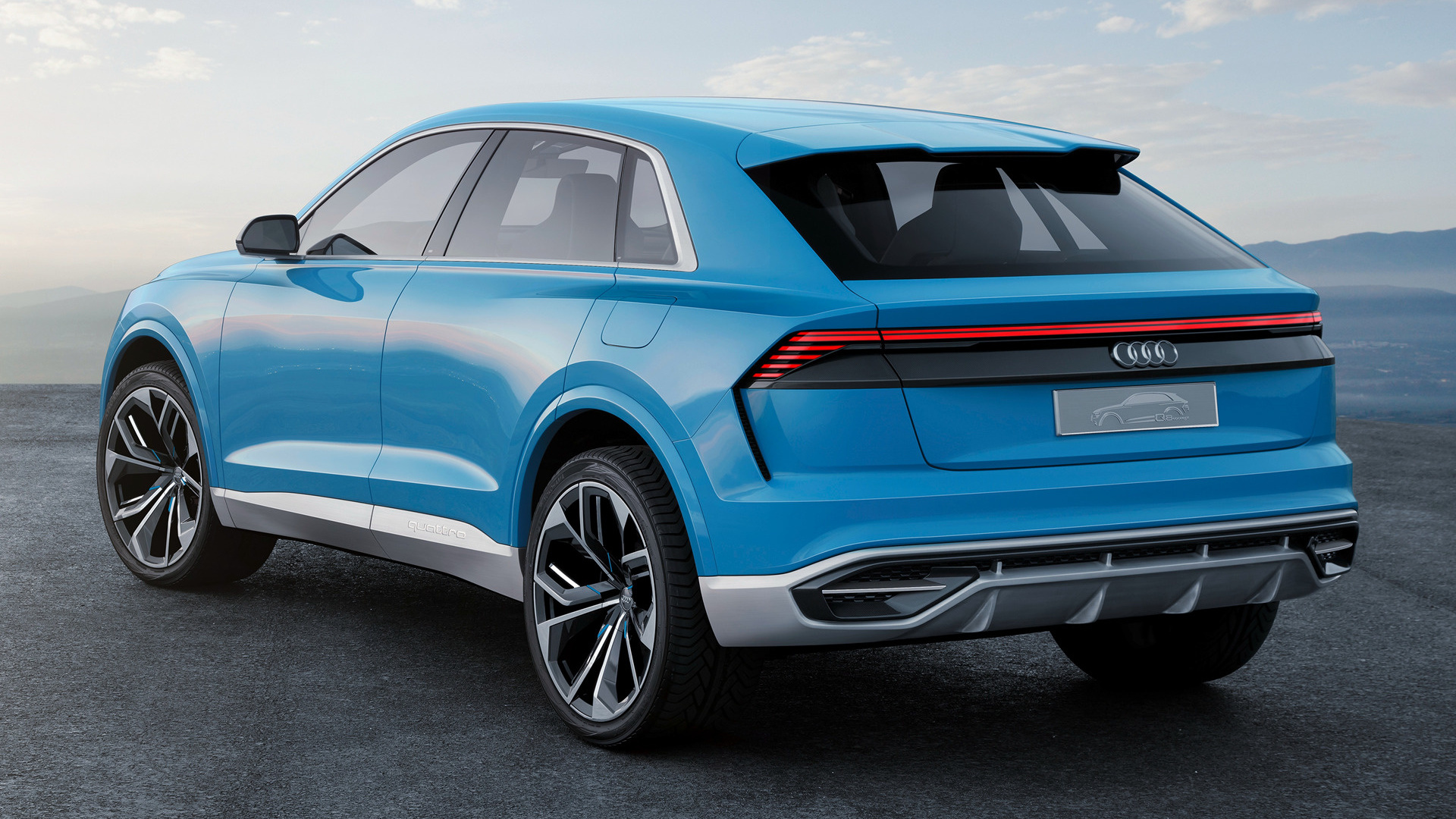 audi q8 concept 2017 wallpapers and hd images car pixel. Black Bedroom Furniture Sets. Home Design Ideas
