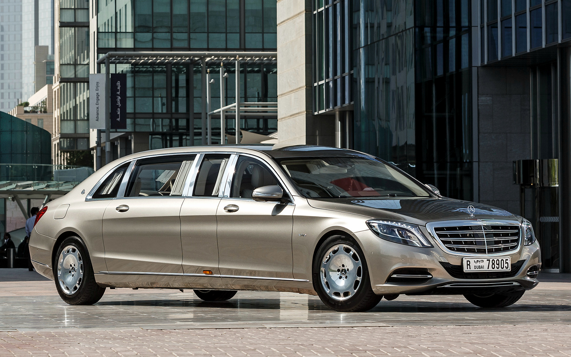 Hyundai Genesis Sedan >> 2016 Mercedes-Maybach S-Class Pullman - Wallpapers and HD ...